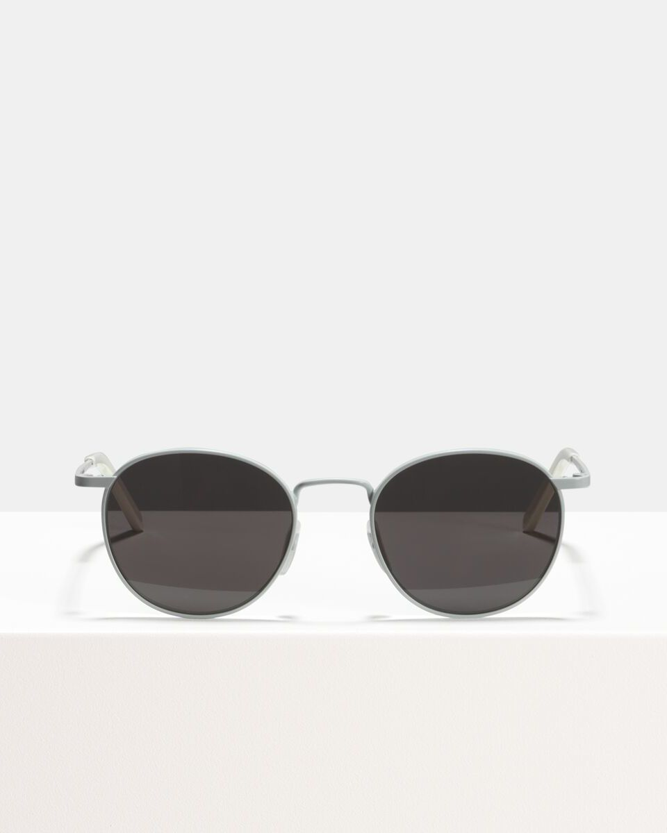 Neil métal glasses in Matte White by Ace & Tate