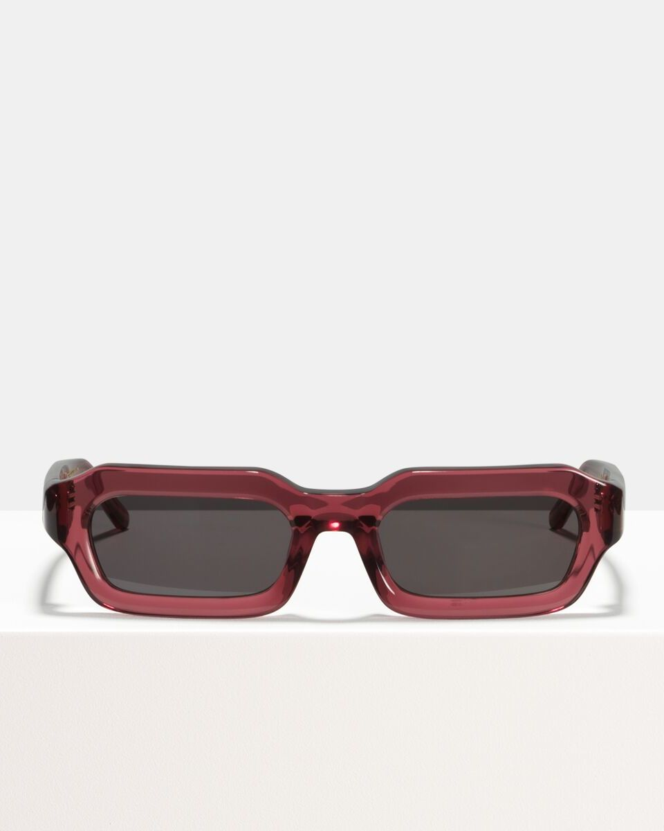 Stef acetate glasses in Red Velvet by Ace & Tate