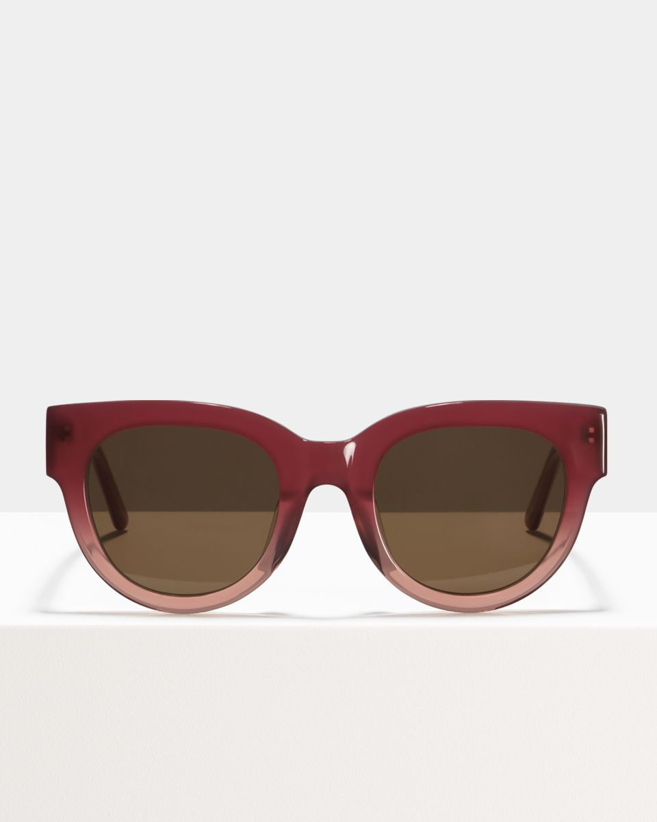 Heather acetato glasses in Sorbet by Ace & Tate