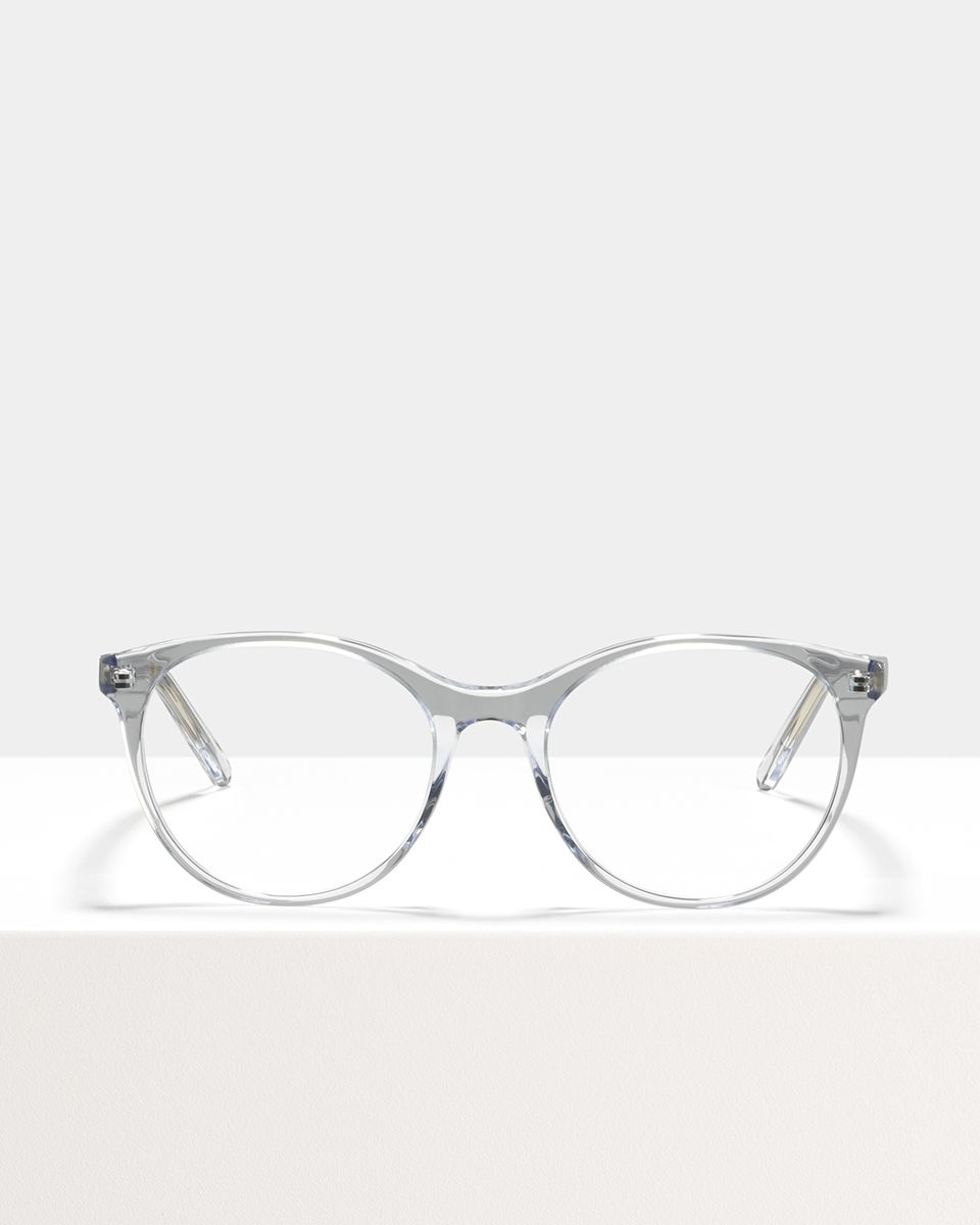Lily acetato glasses in Crystal by Ace & Tate