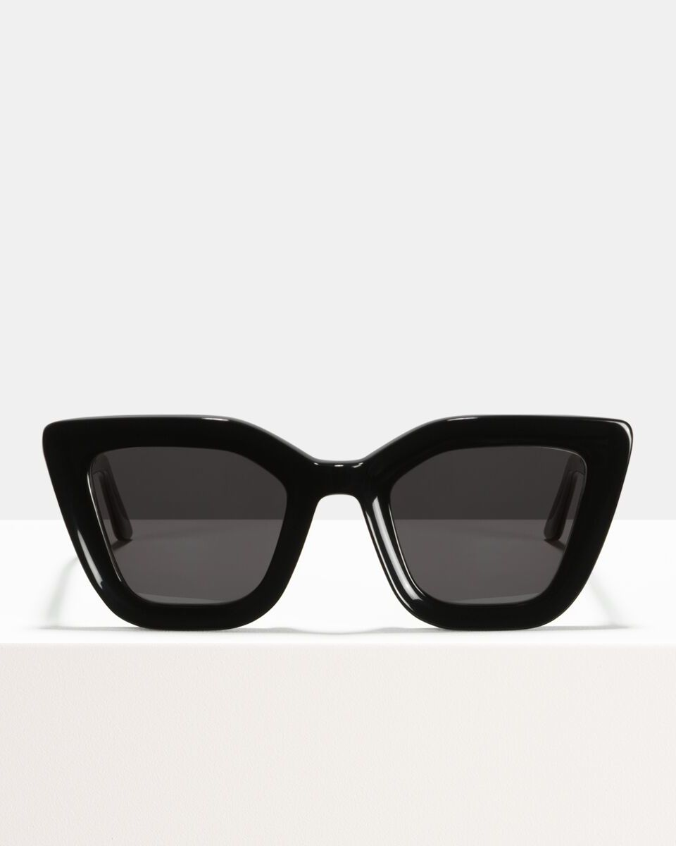 Bella recycled glasses in Black by Ace & Tate