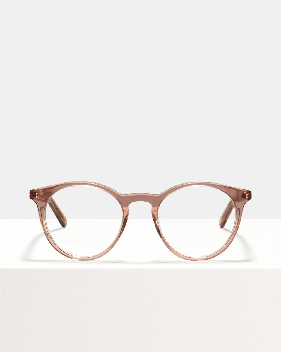 Easton acetaat glasses in Blush by Ace & Tate