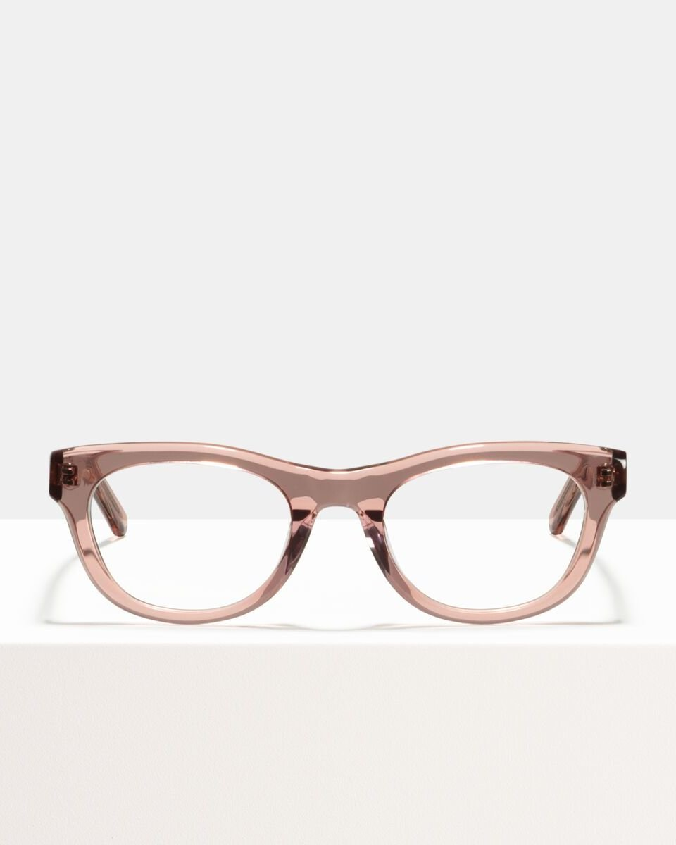 Michelle acetaat glasses in Blush by Ace & Tate