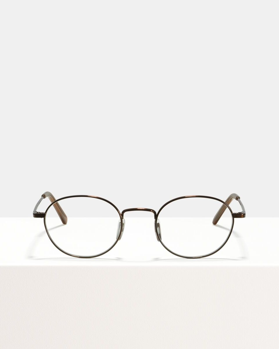 Patti Titanium titanium glasses in Chocolate by Ace & Tate