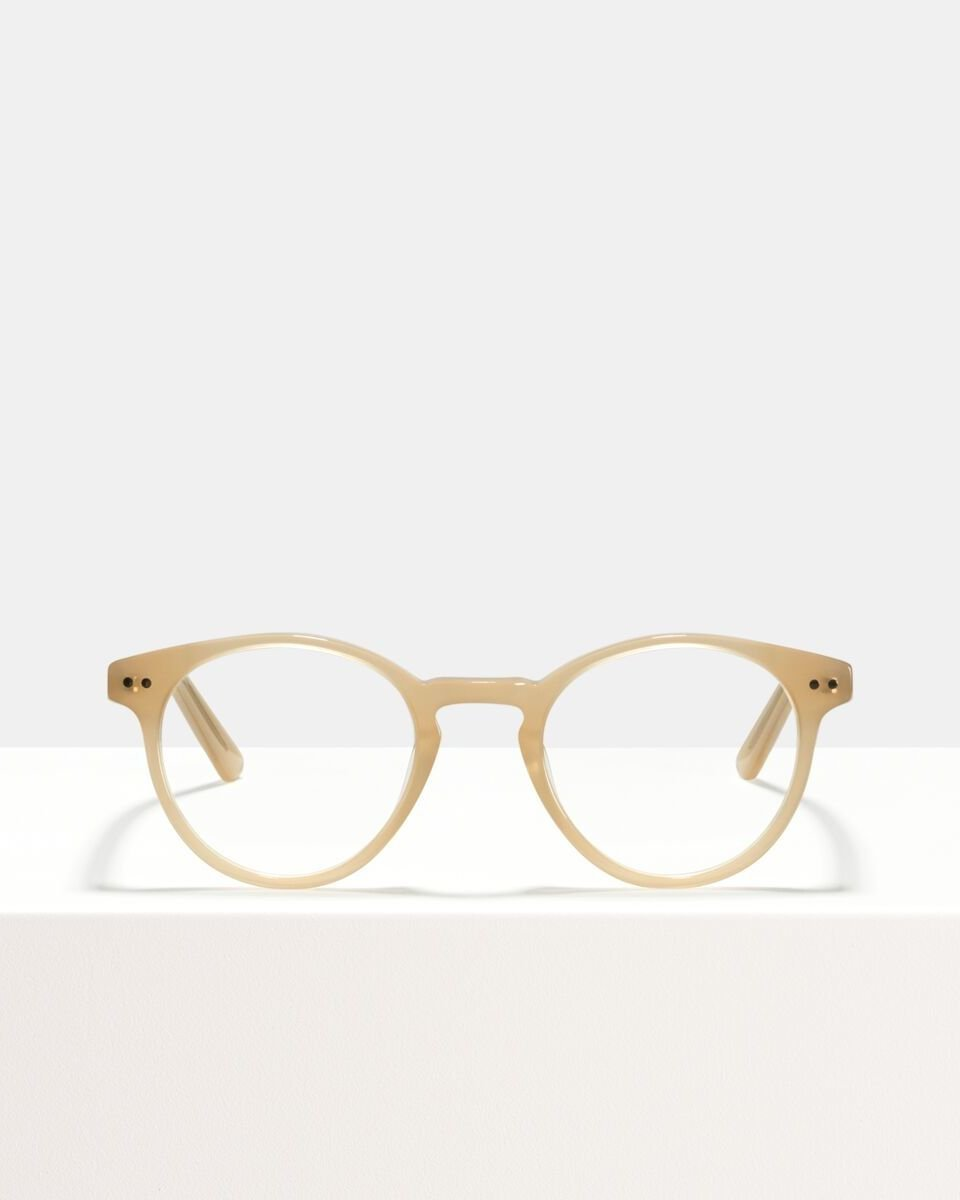 Pierce acetaat glasses in Cashew by Ace & Tate