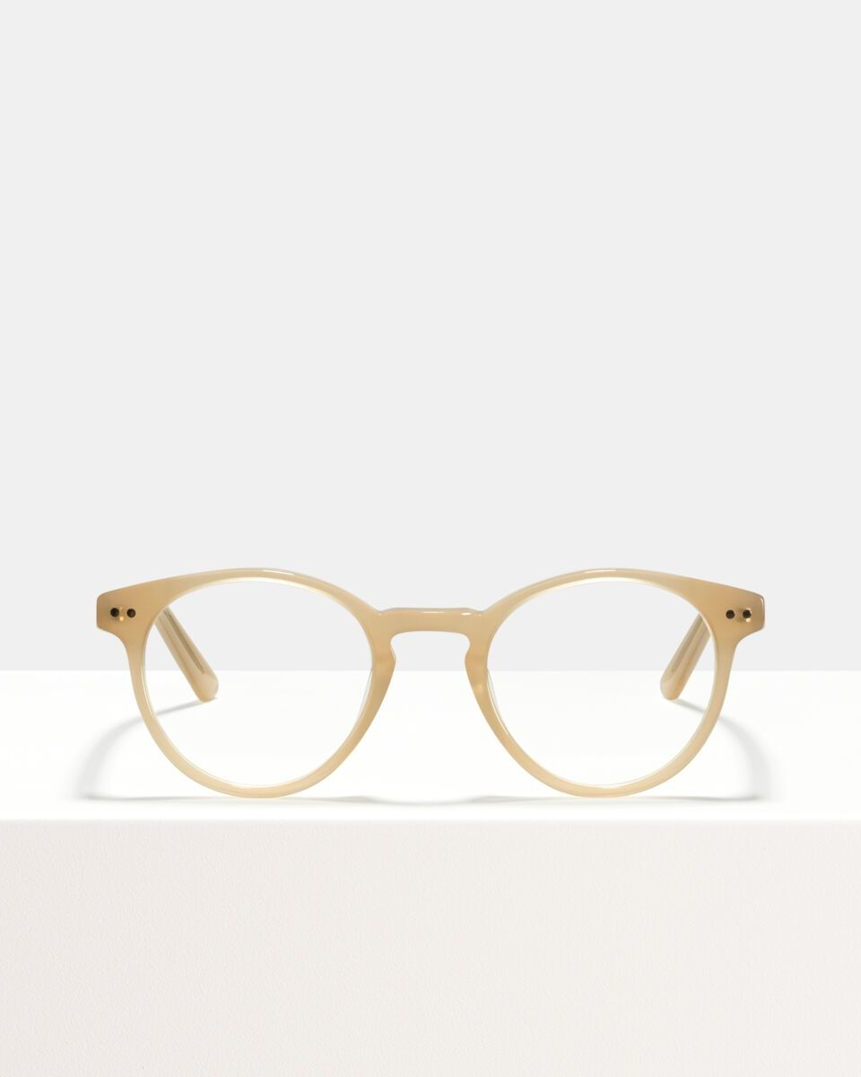 Pierce Acetat glasses in Cashew by Ace & Tate