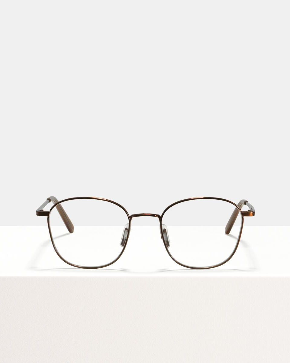 Jay Metall glasses in Chocolate by Ace & Tate