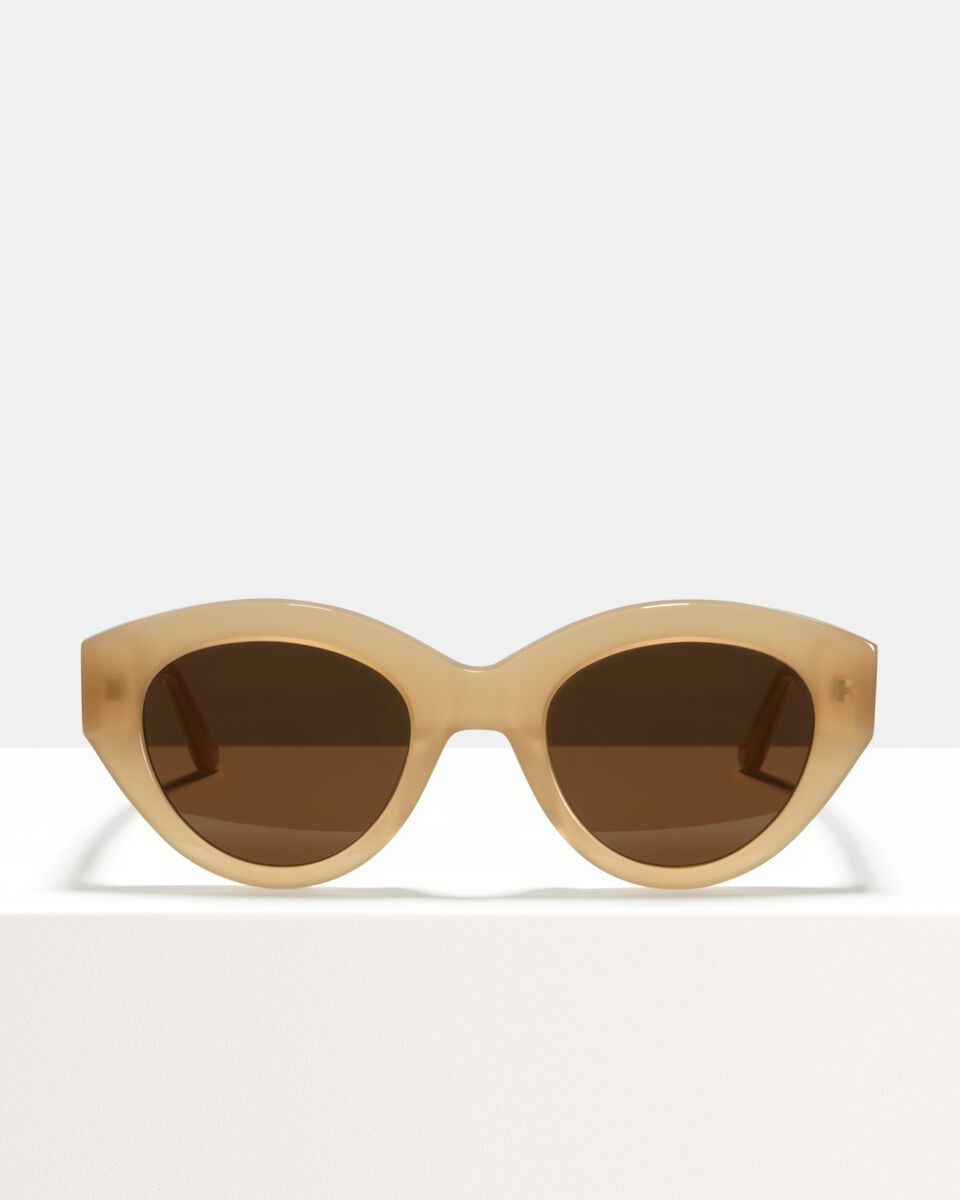 Lauryn acetaat glasses in Cashew by Ace & Tate
