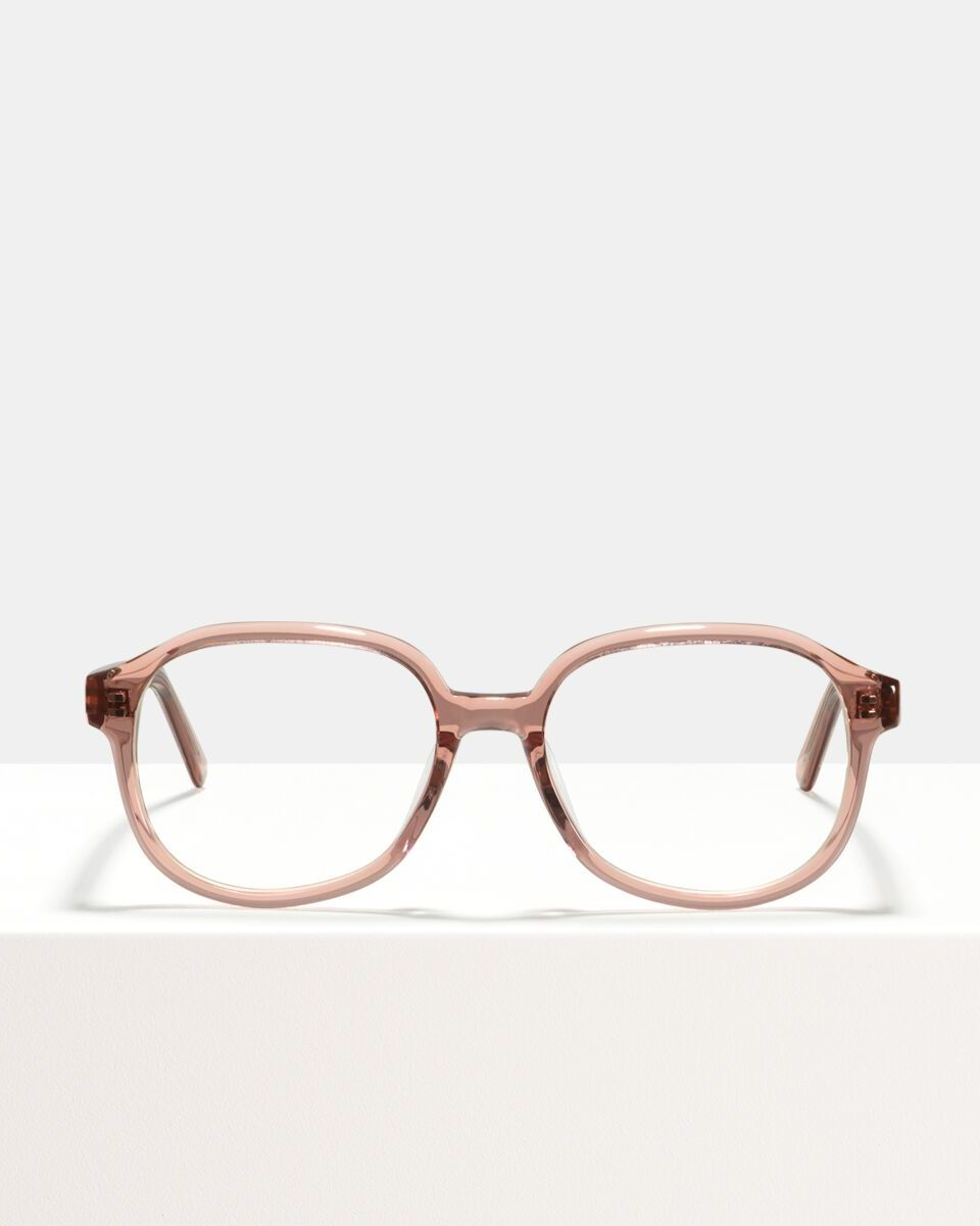 Jourdan acetaat glasses in Blush by Ace & Tate