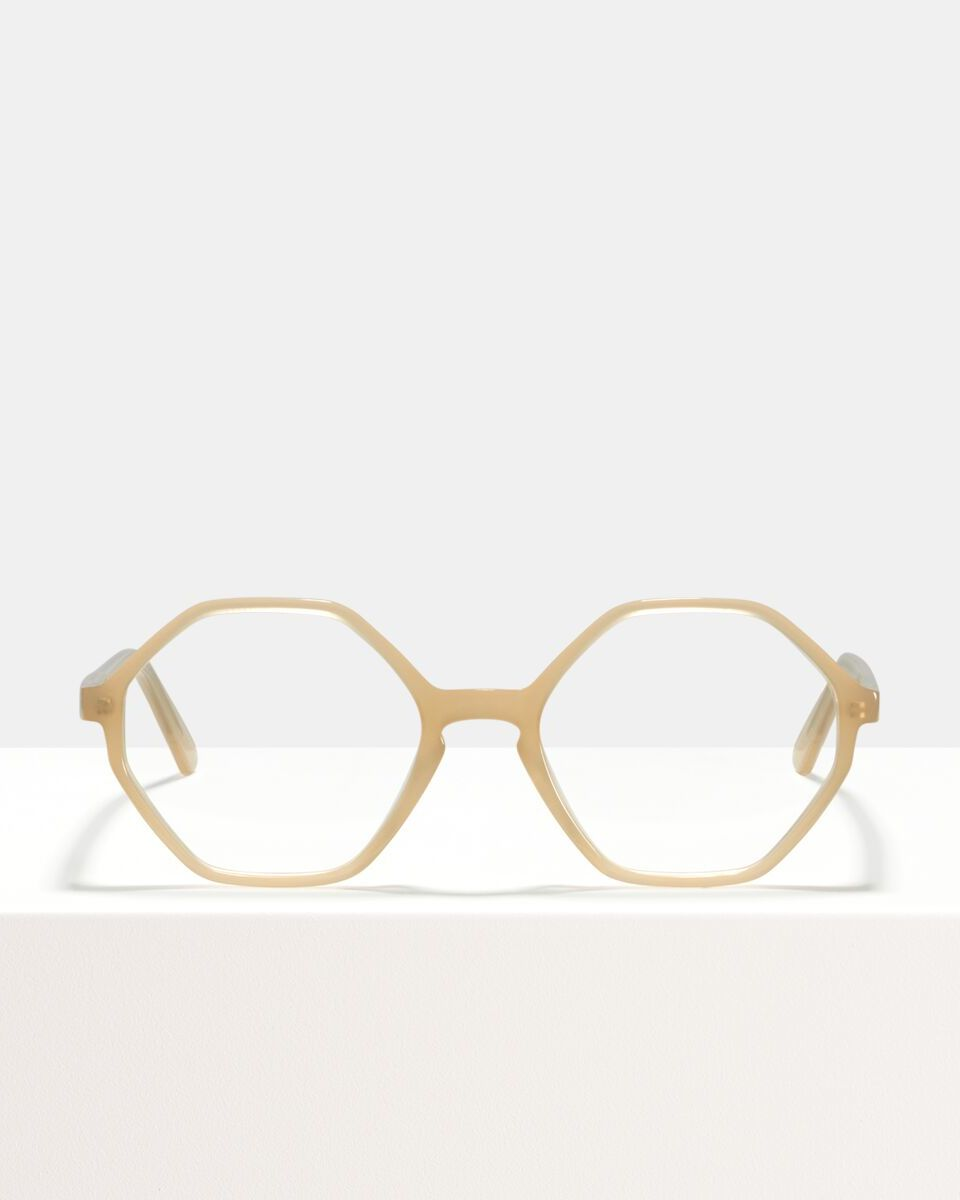 Aretha acetate glasses in Cashew by Ace & Tate