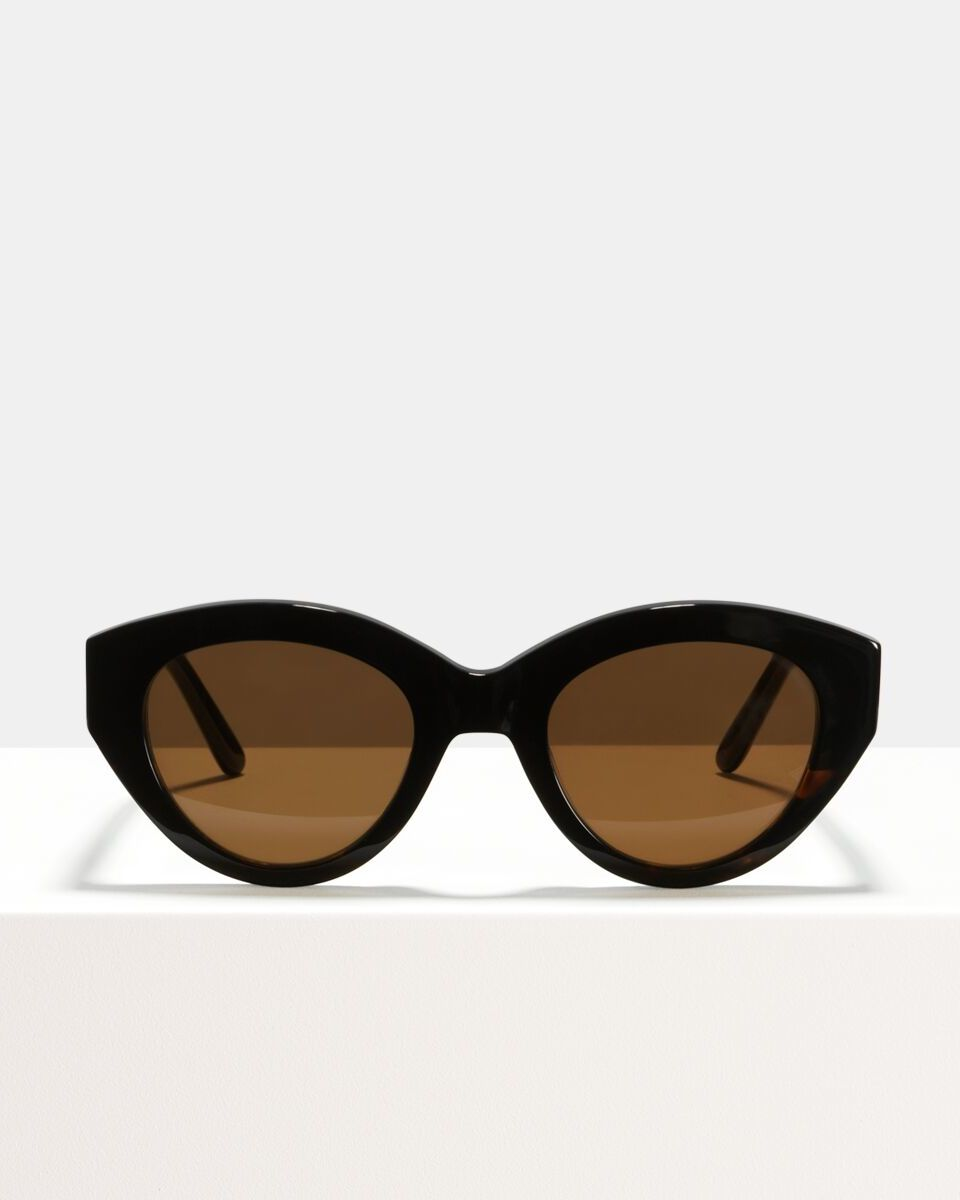 Lauryn acetate glasses in Black by Ace & Tate