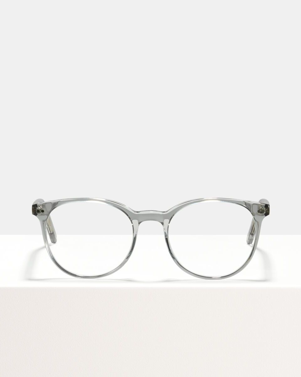 Wes acetaat glasses in Smoke by Ace & Tate