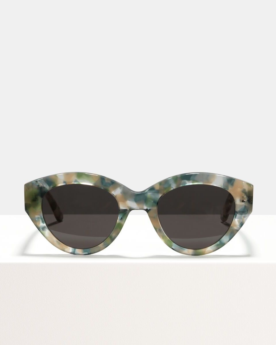 Lauryn acetate glasses in Concrete Jungle by Ace & Tate