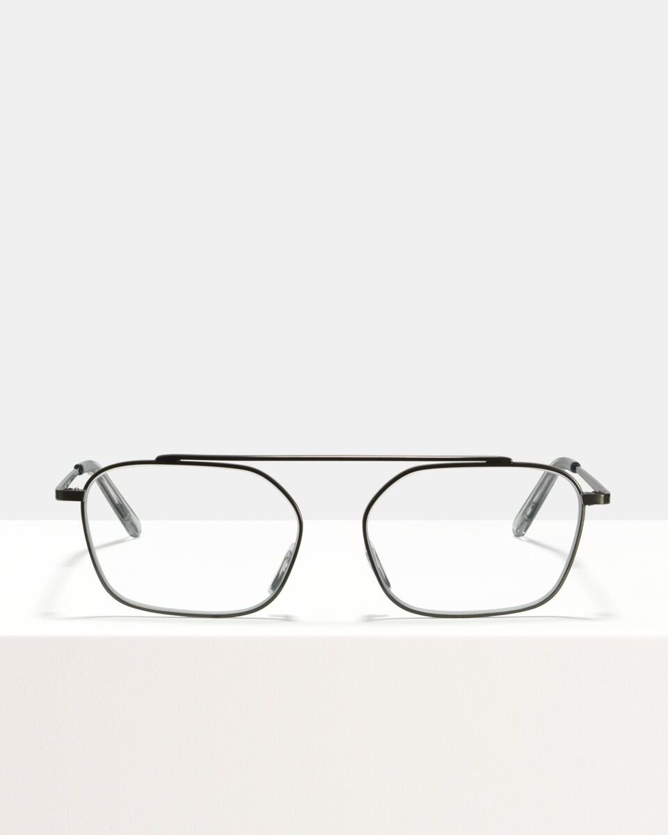 Yung metal glasses in Gunmetal by Ace & Tate