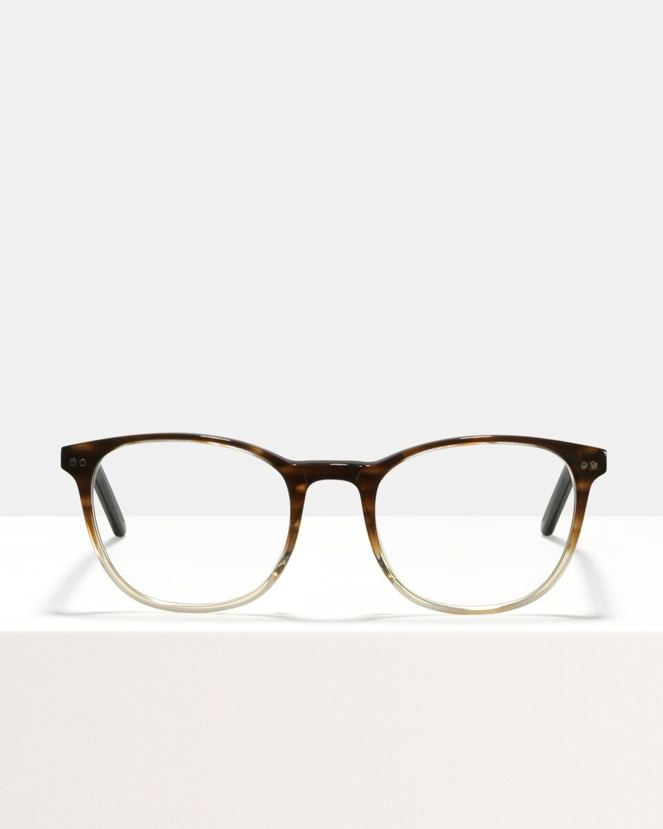 Saul acetato glasses in Espresso Gradient by Ace & Tate