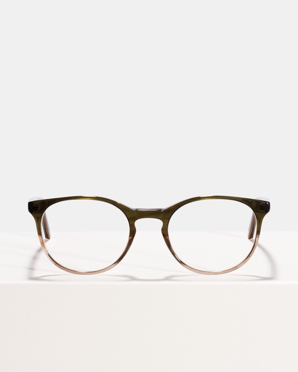Miles Large acetate glasses in Olive Gradient by Ace & Tate