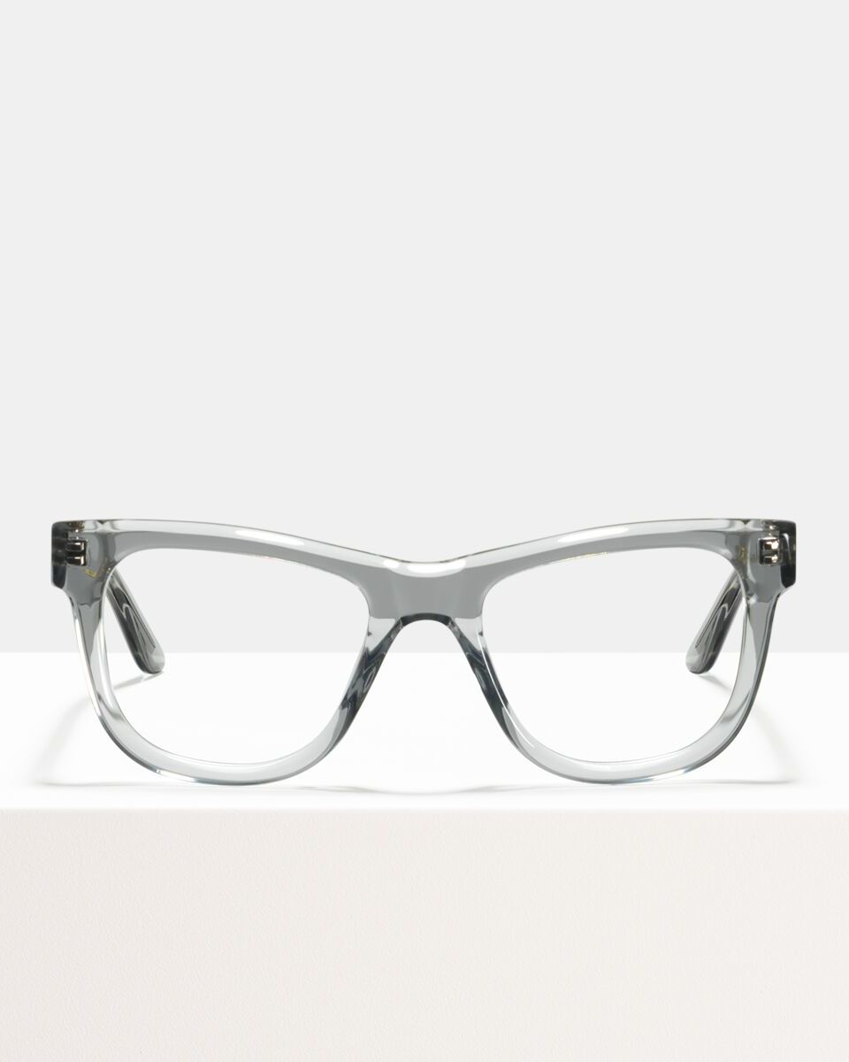 Jack Large acetaat glasses in Smoke by Ace & Tate