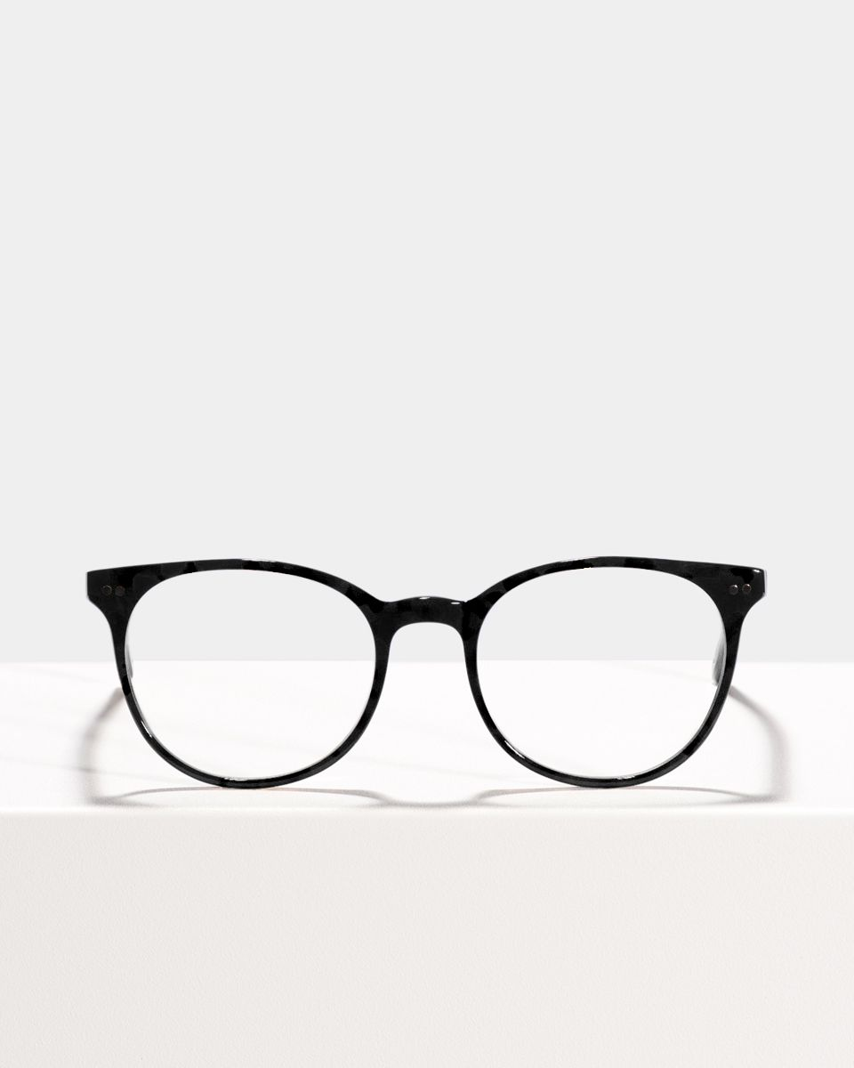 Wes gerecycled glasses in Black by Ace & Tate