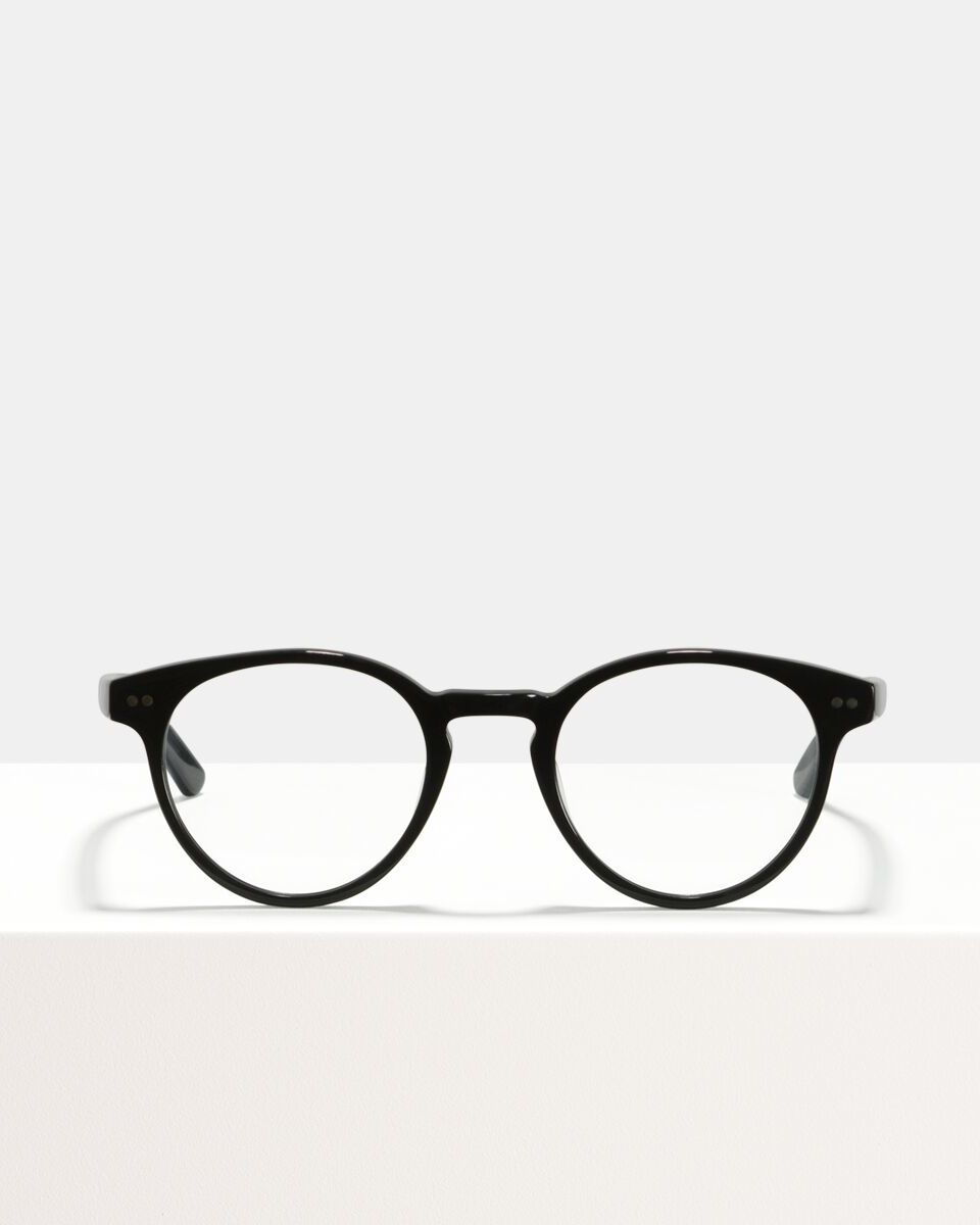 Pierce Large acetaat glasses in Black by Ace & Tate