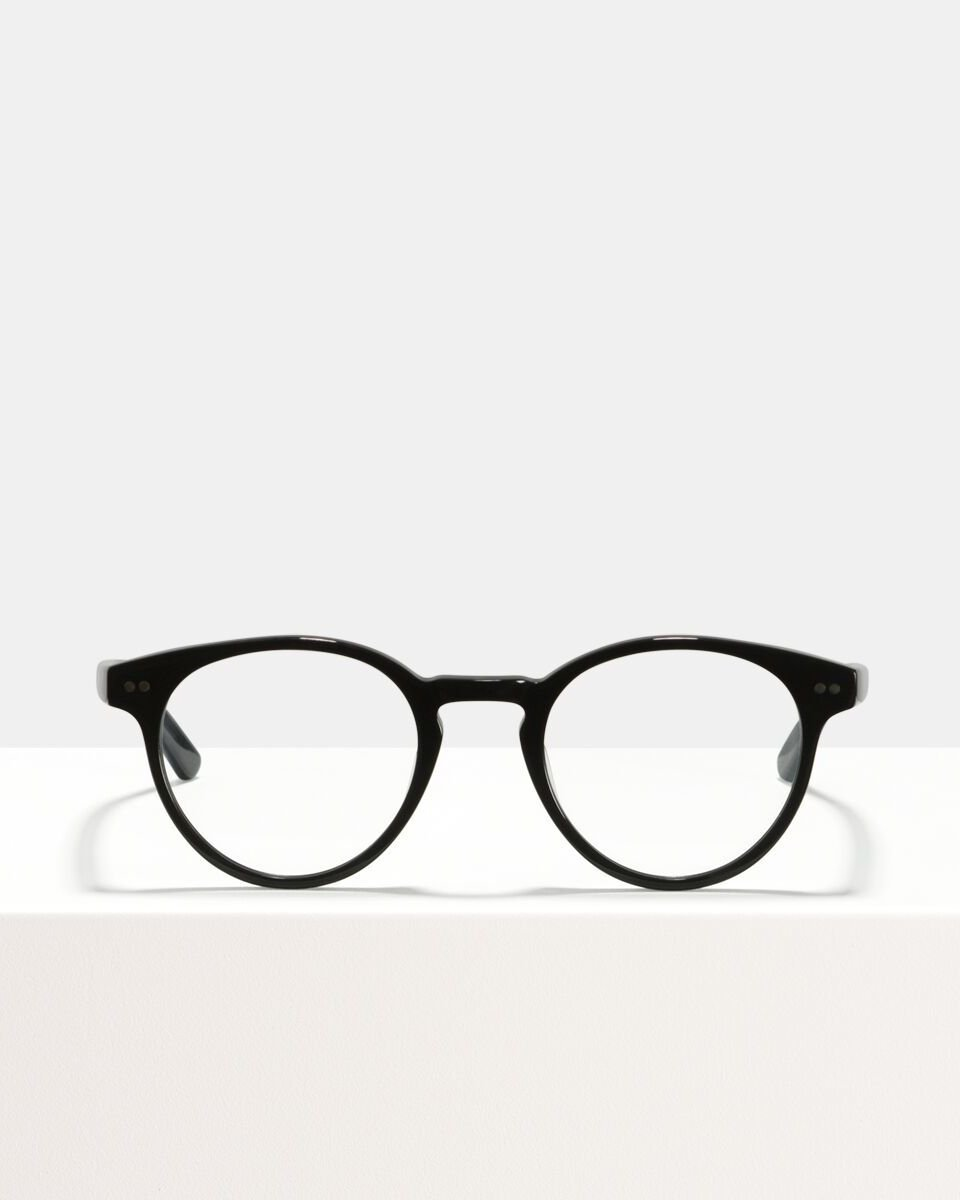 Pierce Large Acetat glasses in Black by Ace & Tate