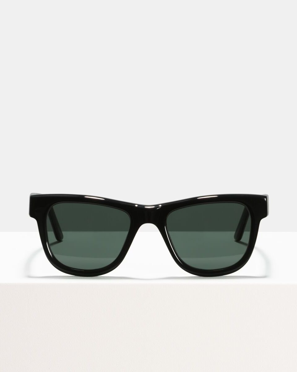 Jack Large acétate glasses in Black by Ace & Tate