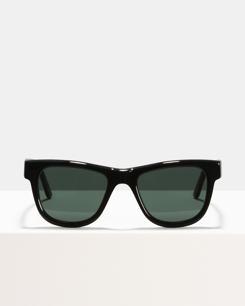 Jack Large acetato glasses in Black by Ace & Tate