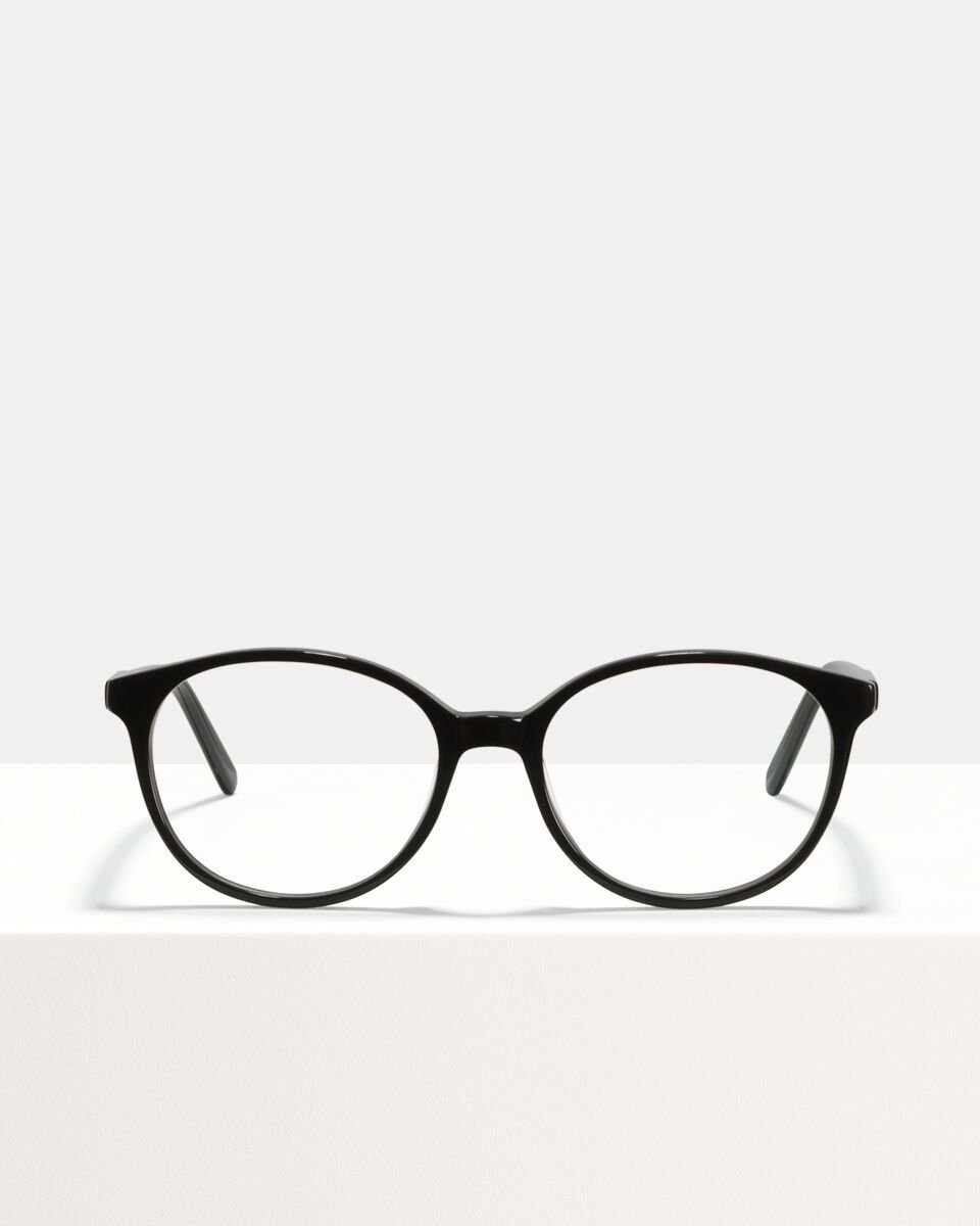 Nina acetaat glasses in Black by Ace & Tate