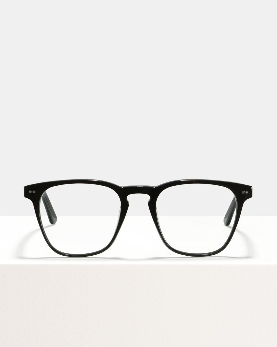 Hudson acetaat glasses in Black by Ace & Tate