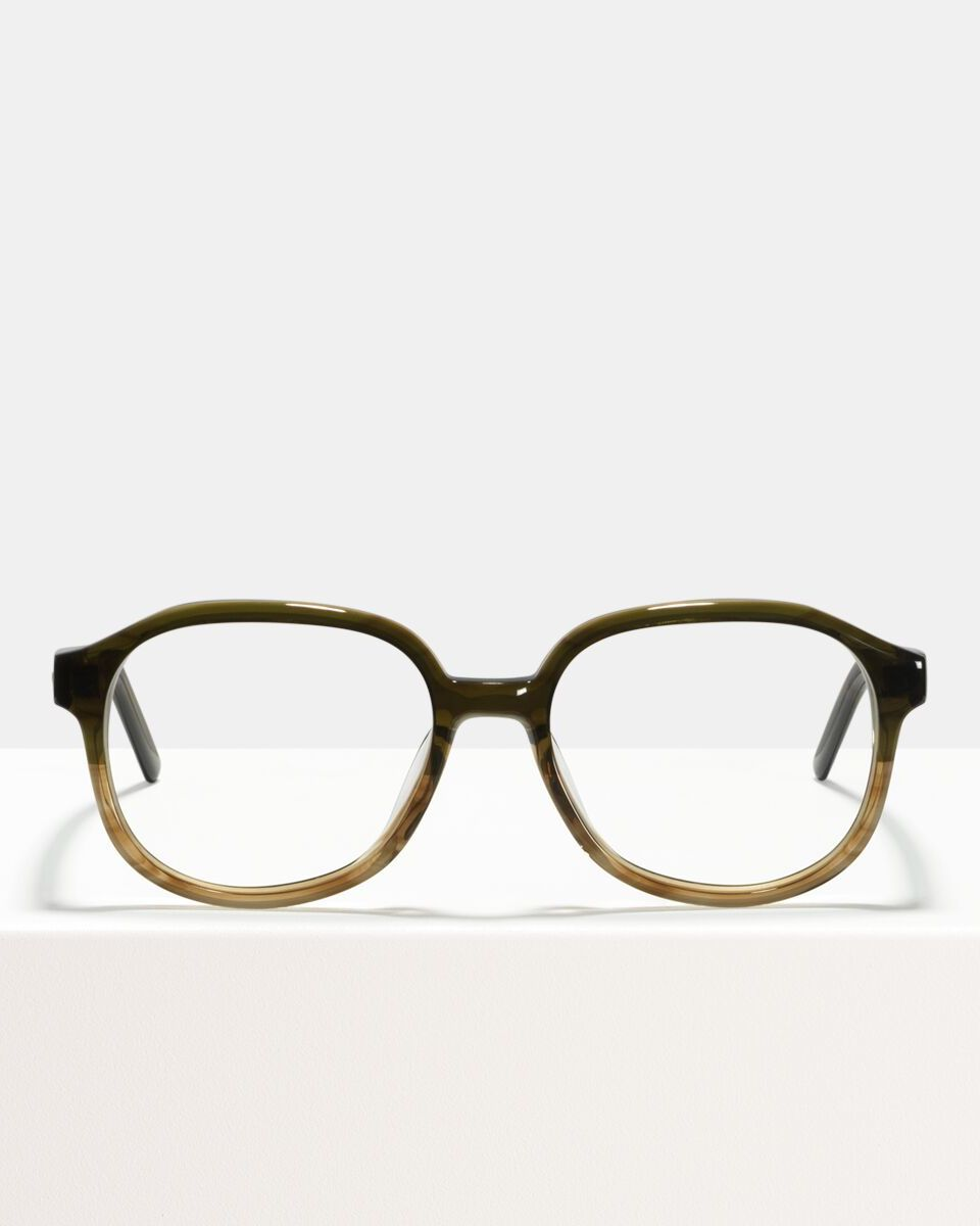 Jourdan acetaat glasses in Olive Gradient by Ace & Tate