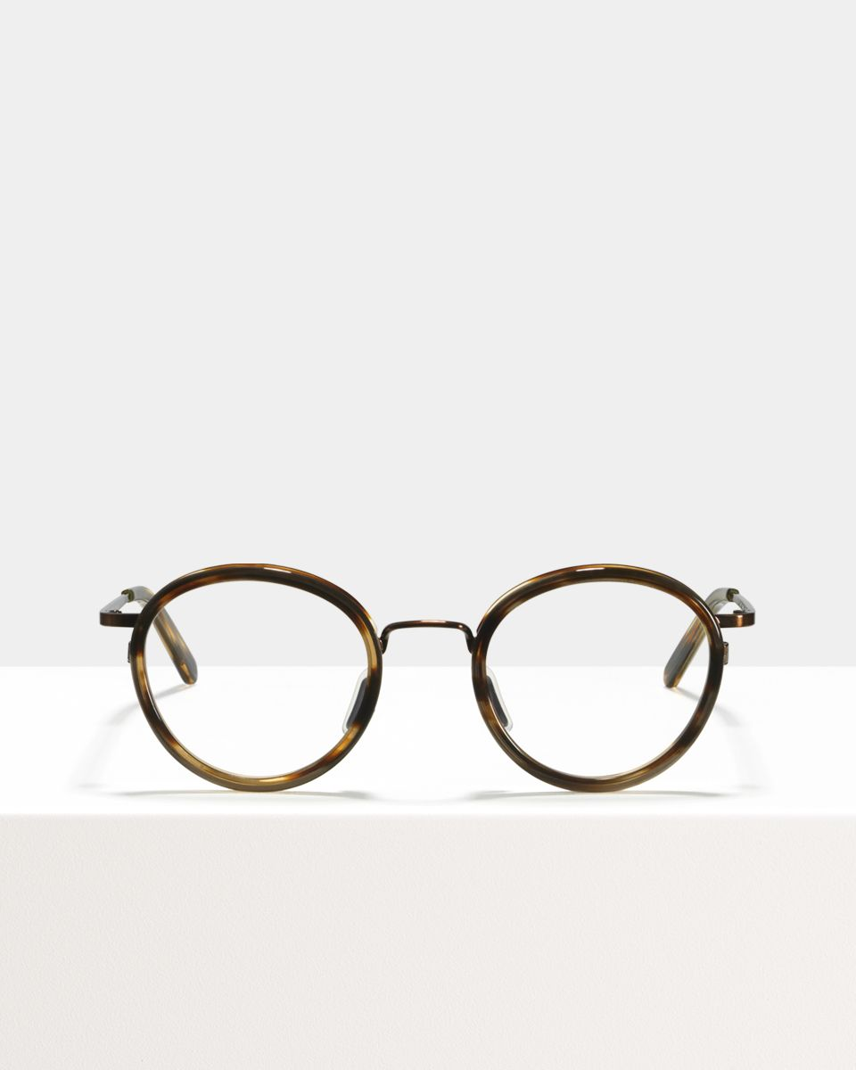 Tyler acetate glasses in Chocolate Tigerwood by Ace & Tate