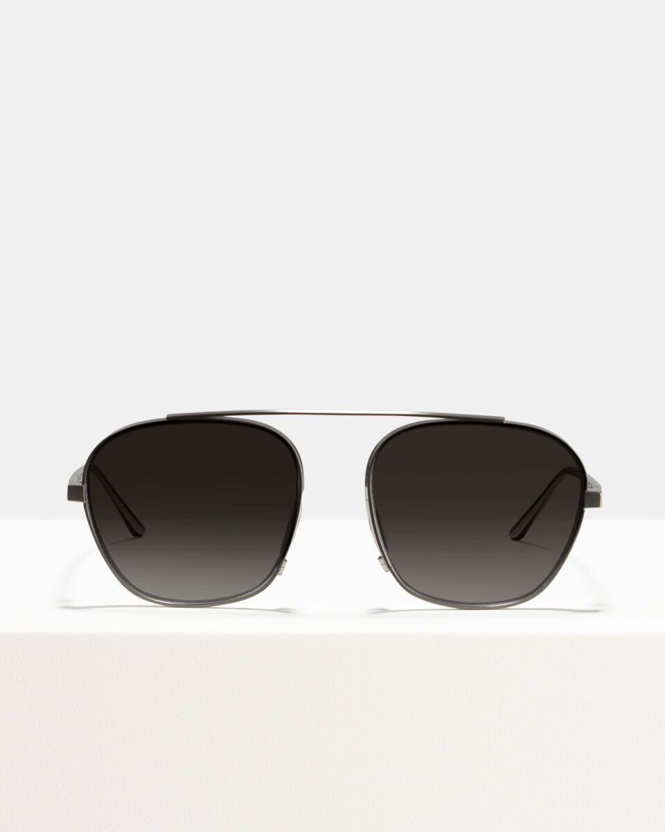 Tokio Titanium Titan glasses in Satin Silver by Ace & Tate