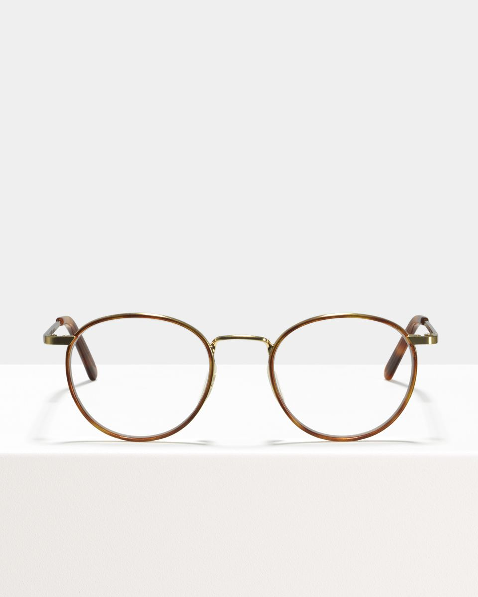 Neil metal glasses in Windsor Rim Desert Spice by Ace & Tate