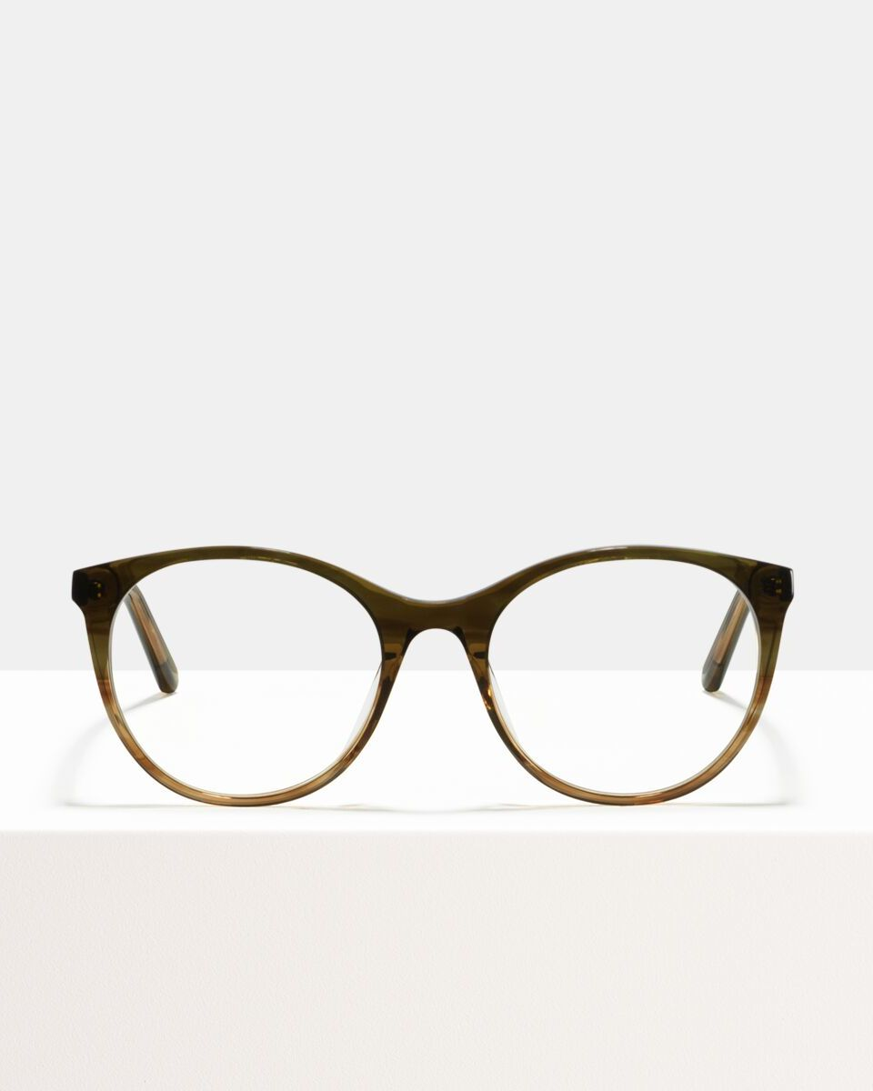 Lily Acetat glasses in Olive Gradient by Ace & Tate