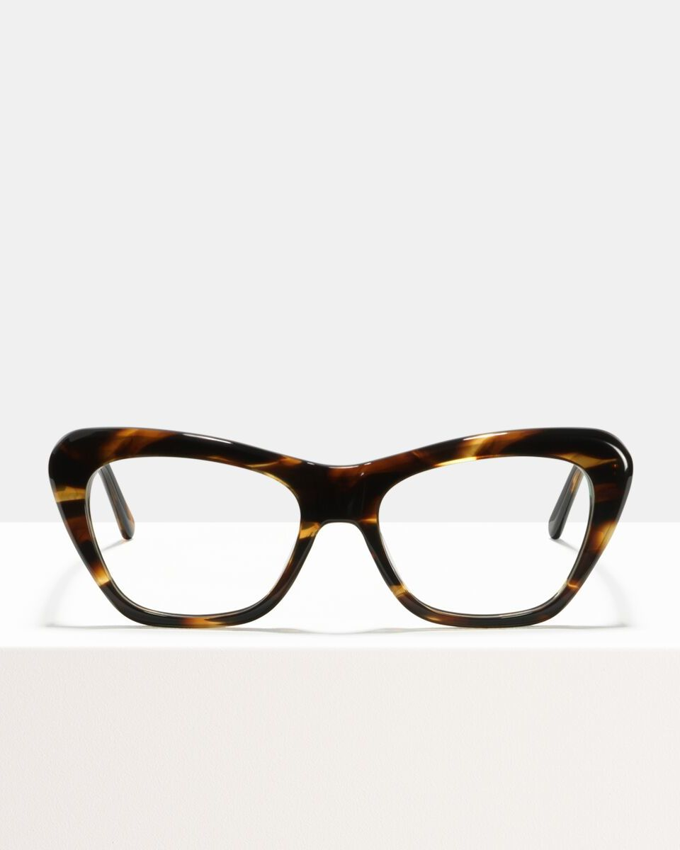Maya acetate glasses in Tigerwood by Ace & Tate