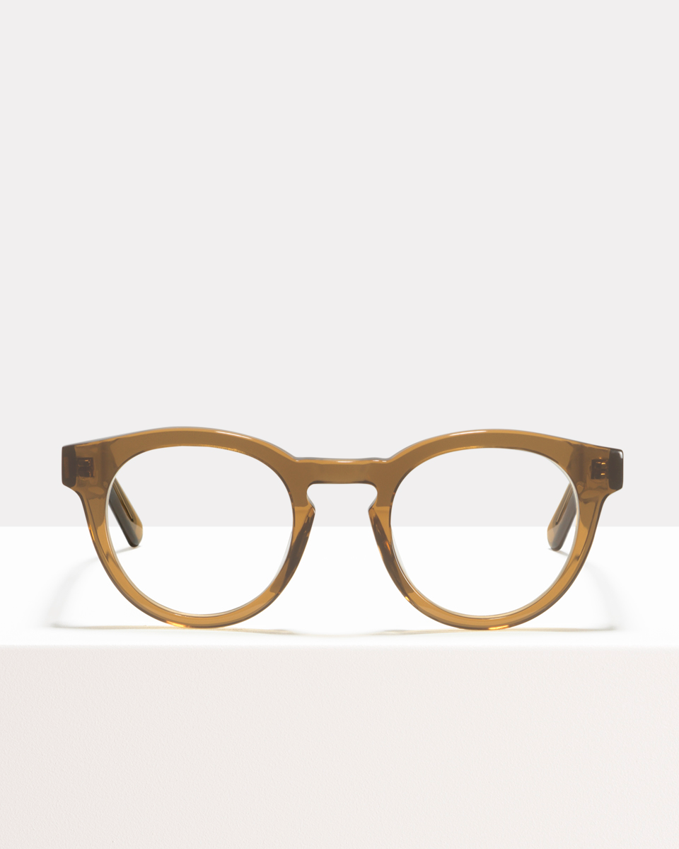 Byron Acetat glasses in Golden Brown by Ace & Tate