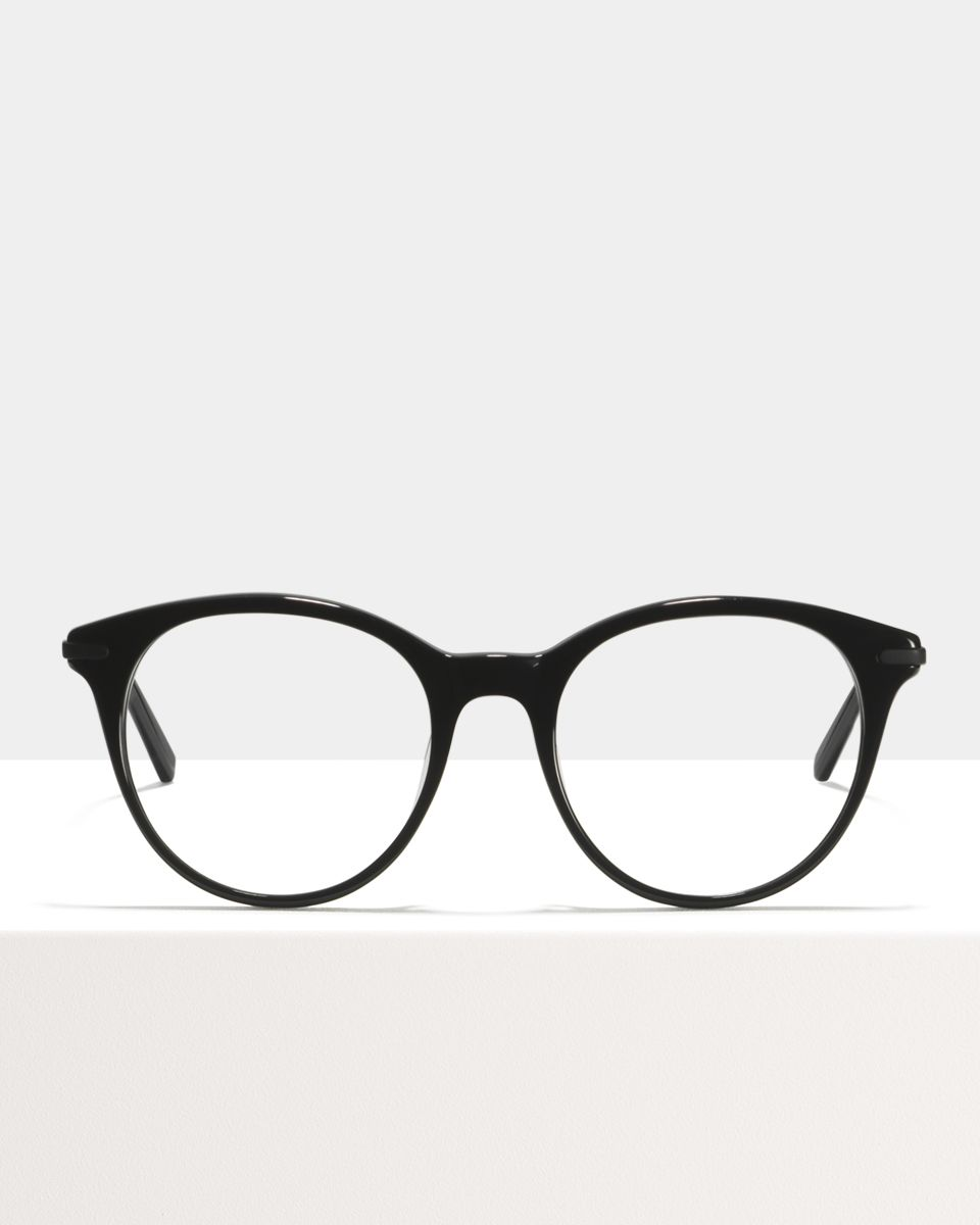 Liz acetaat glasses in Black by Ace & Tate