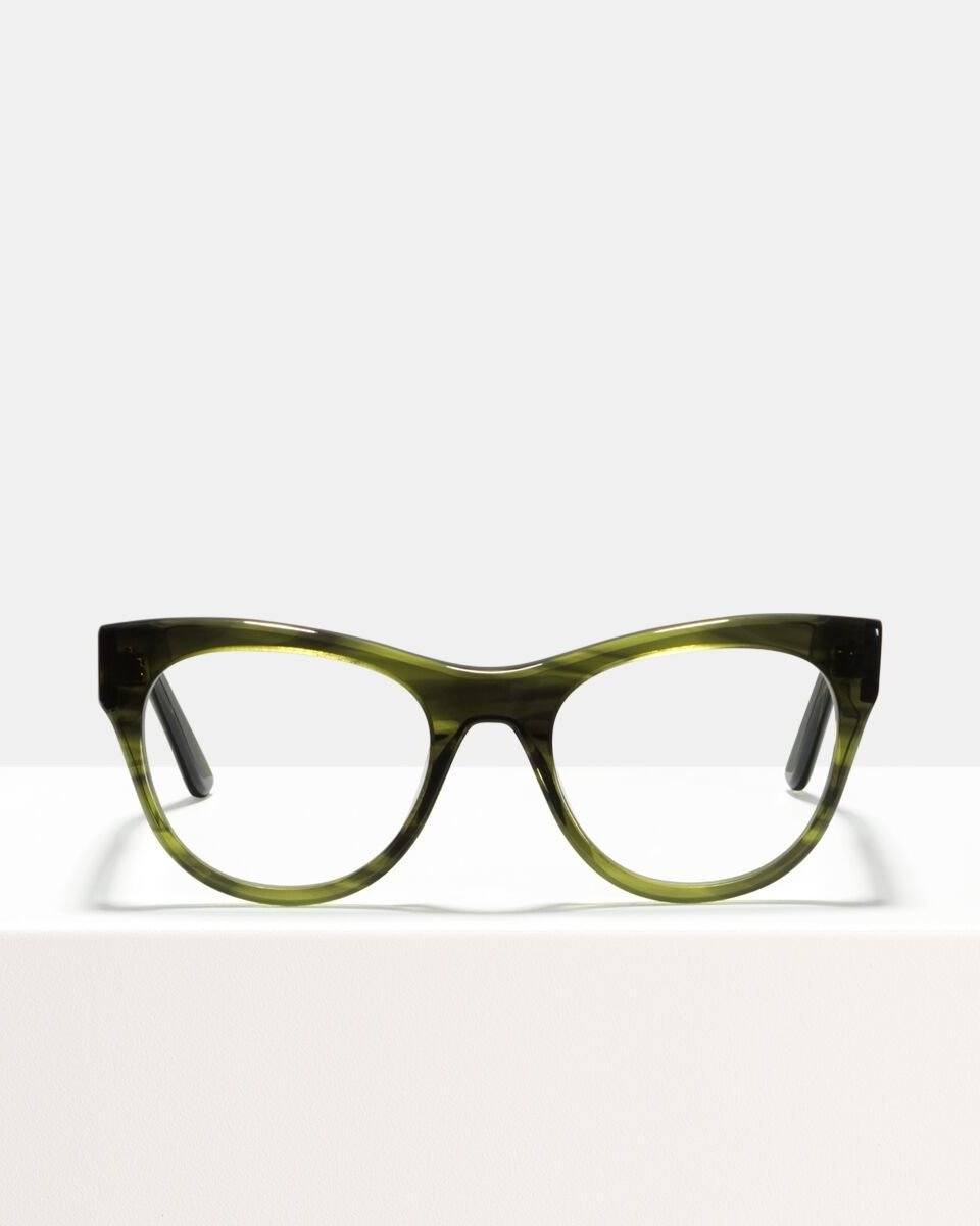 Amy Acetat glasses in Botanical Haze by Ace & Tate