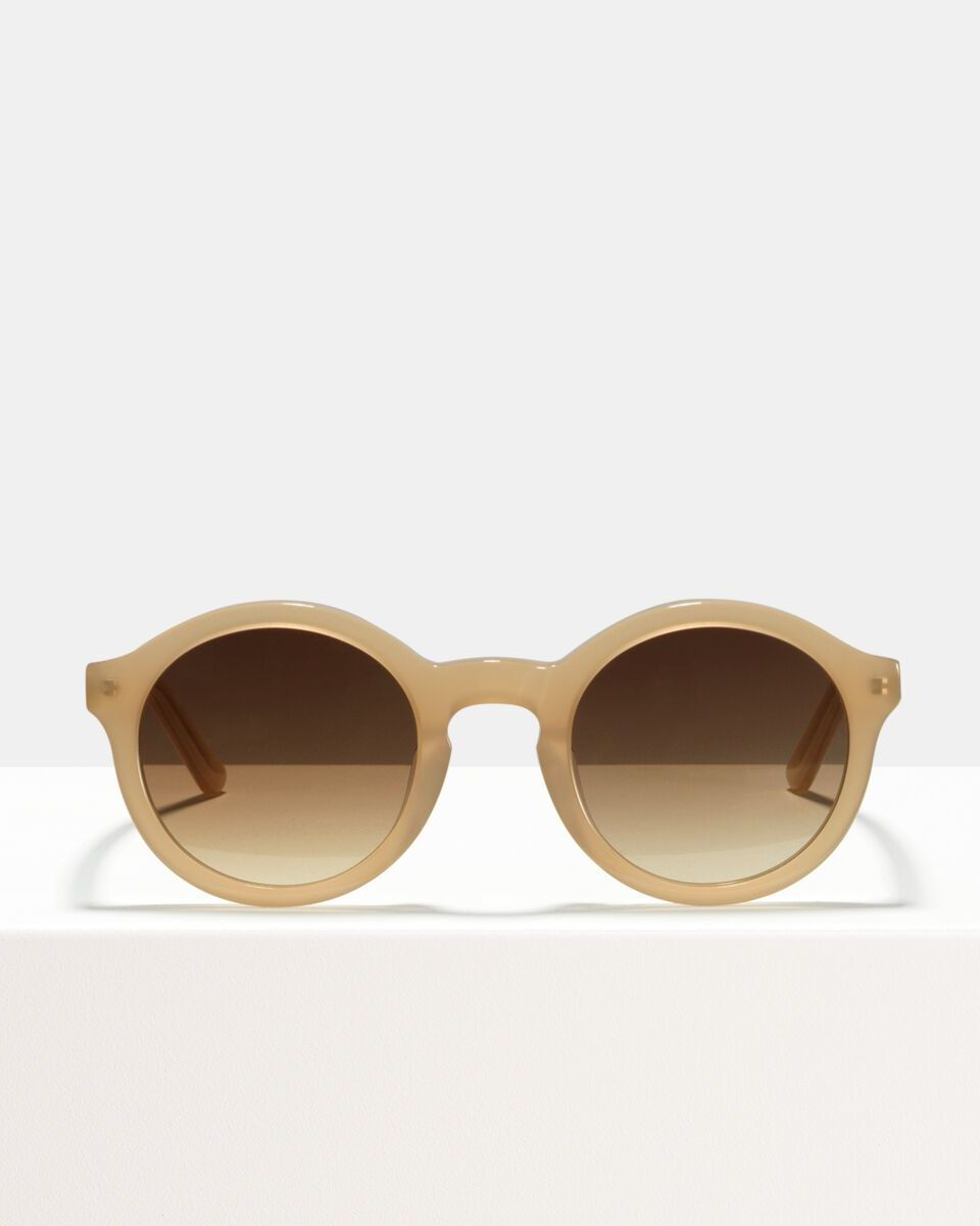 Colin acetaat glasses in Cashew by Ace & Tate