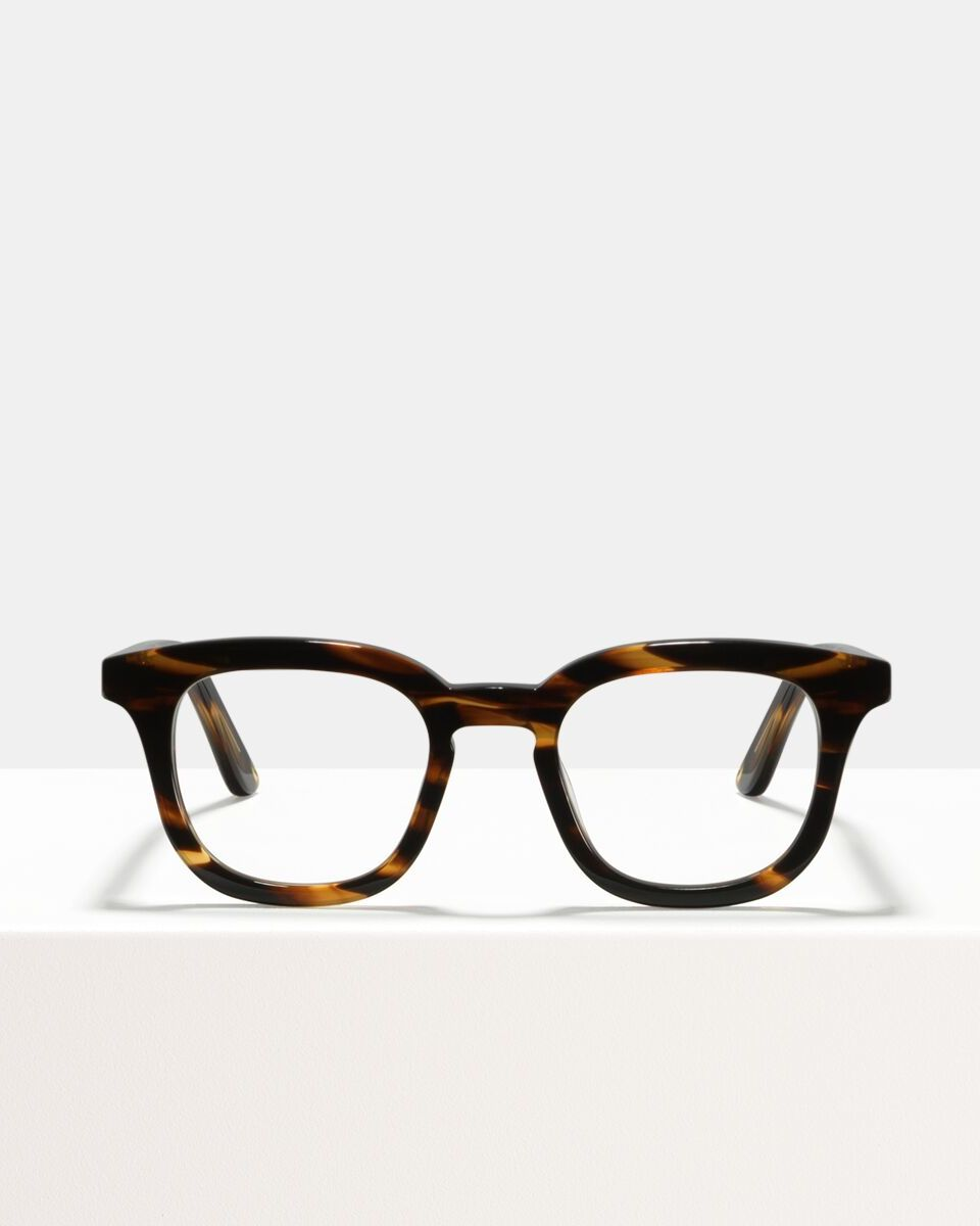 Bobby Large Acetat glasses in Tigerwood by Ace & Tate