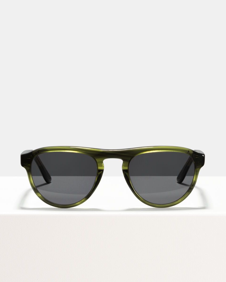 Freddie acetate glasses in Botanical Haze by Ace & Tate