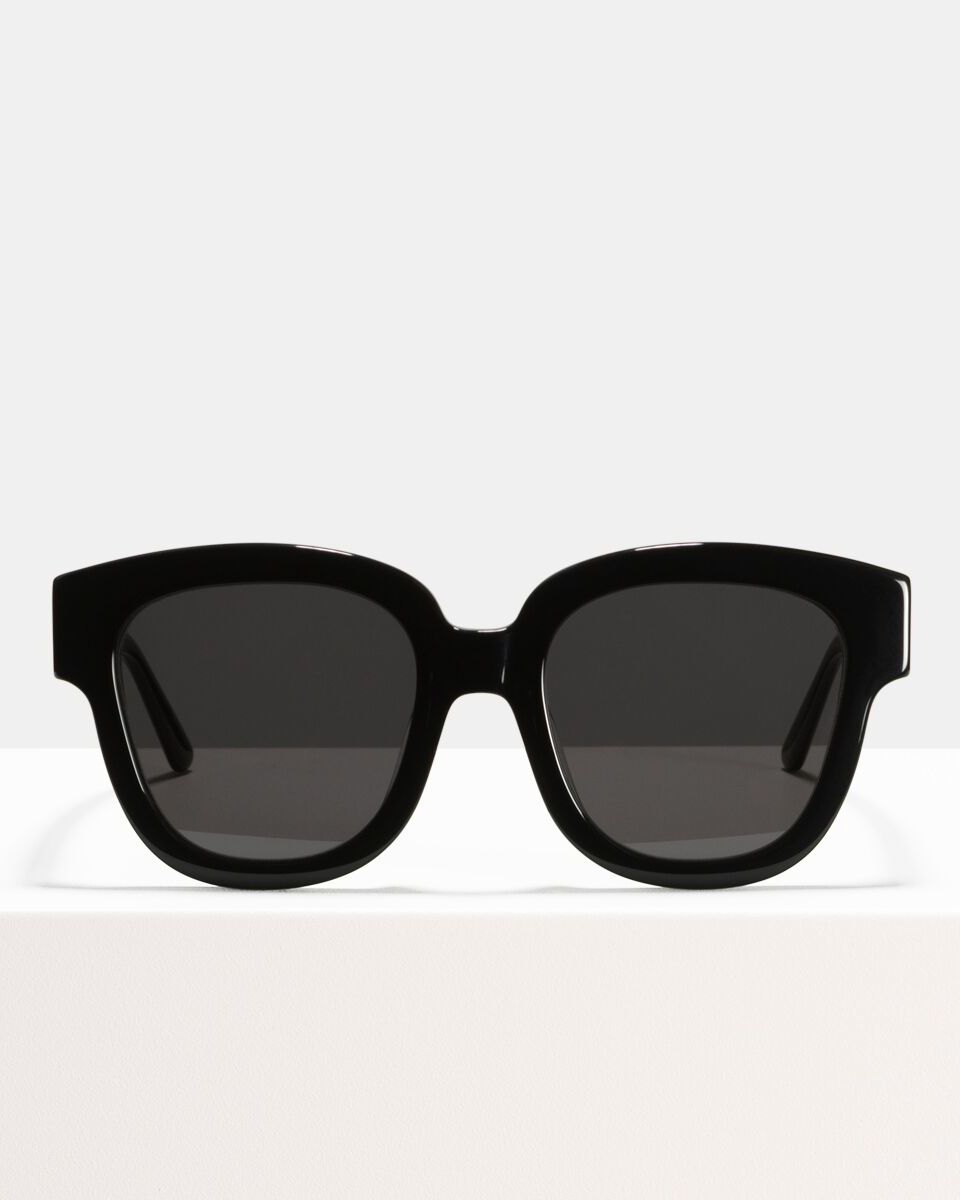 Harper Small Acetat glasses in Black by Ace & Tate