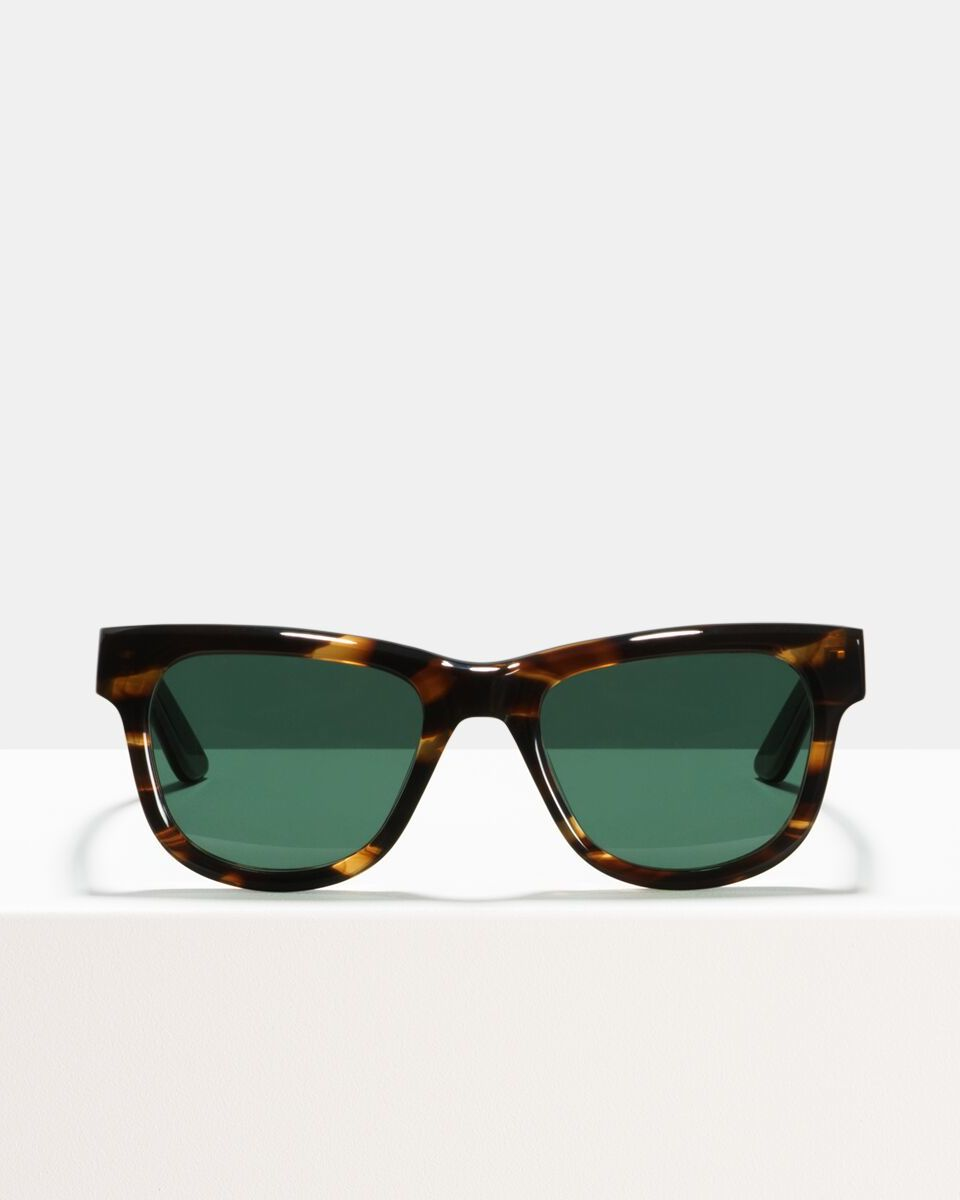 Jack acetate glasses in Tigerwood by Ace & Tate