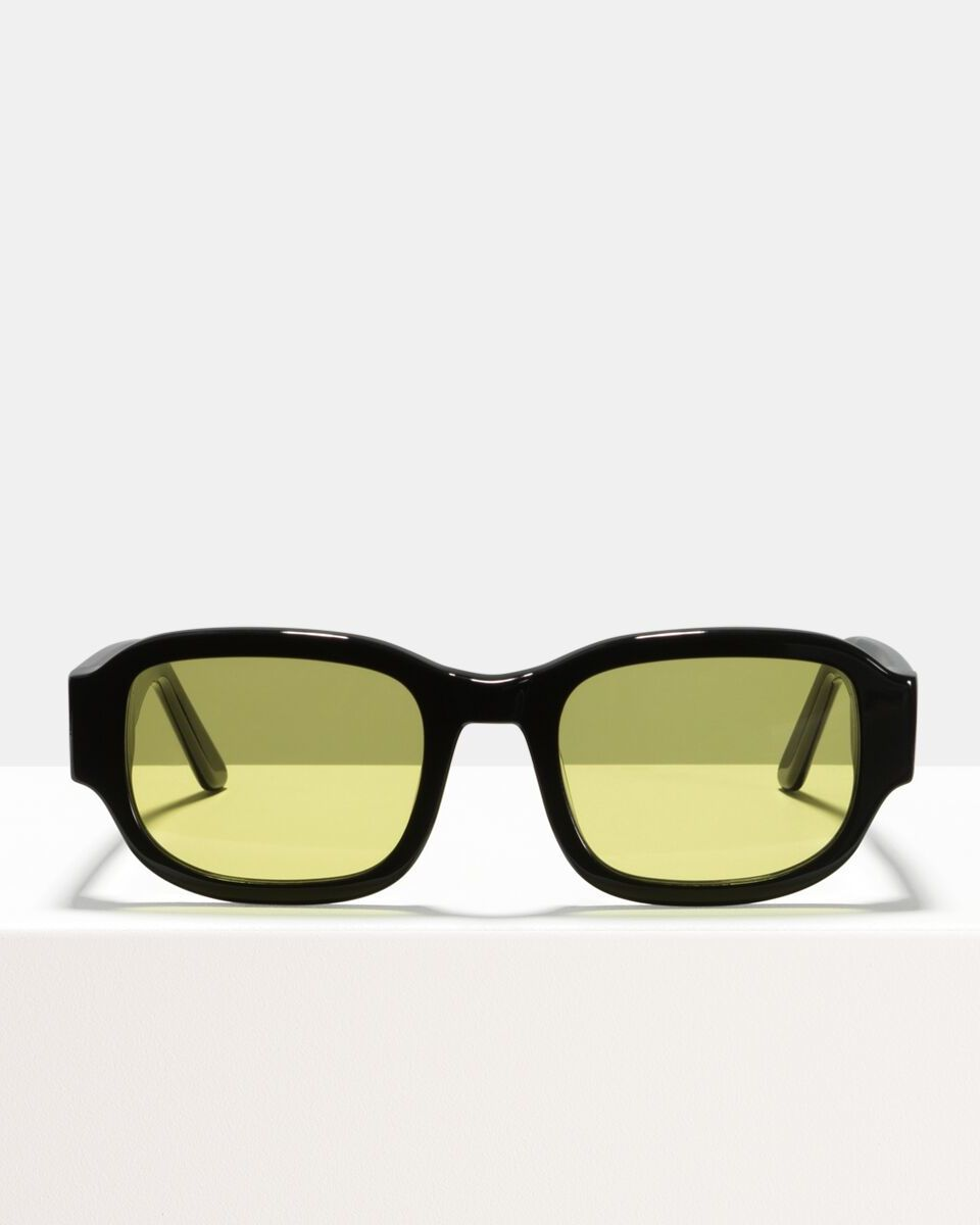 Tom acetate glasses in Black Yellow by Ace & Tate