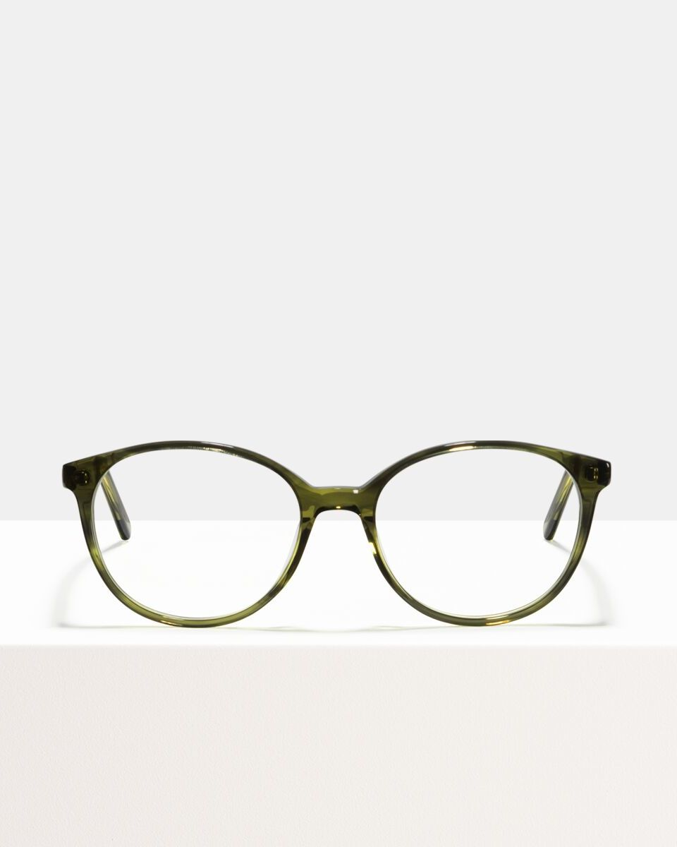 Nina acetaat glasses in Botanical Haze by Ace & Tate
