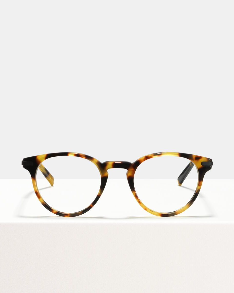 Pierce Metal Temple Acetat glasses in Bananas by Ace & Tate