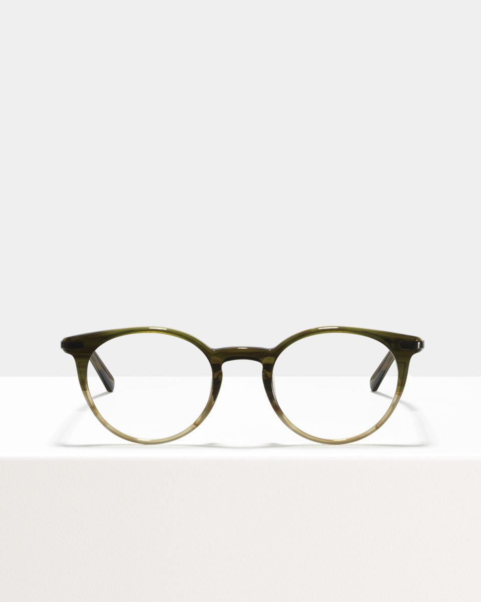 Morris Small acetate glasses in Olive Gradient by Ace & Tate