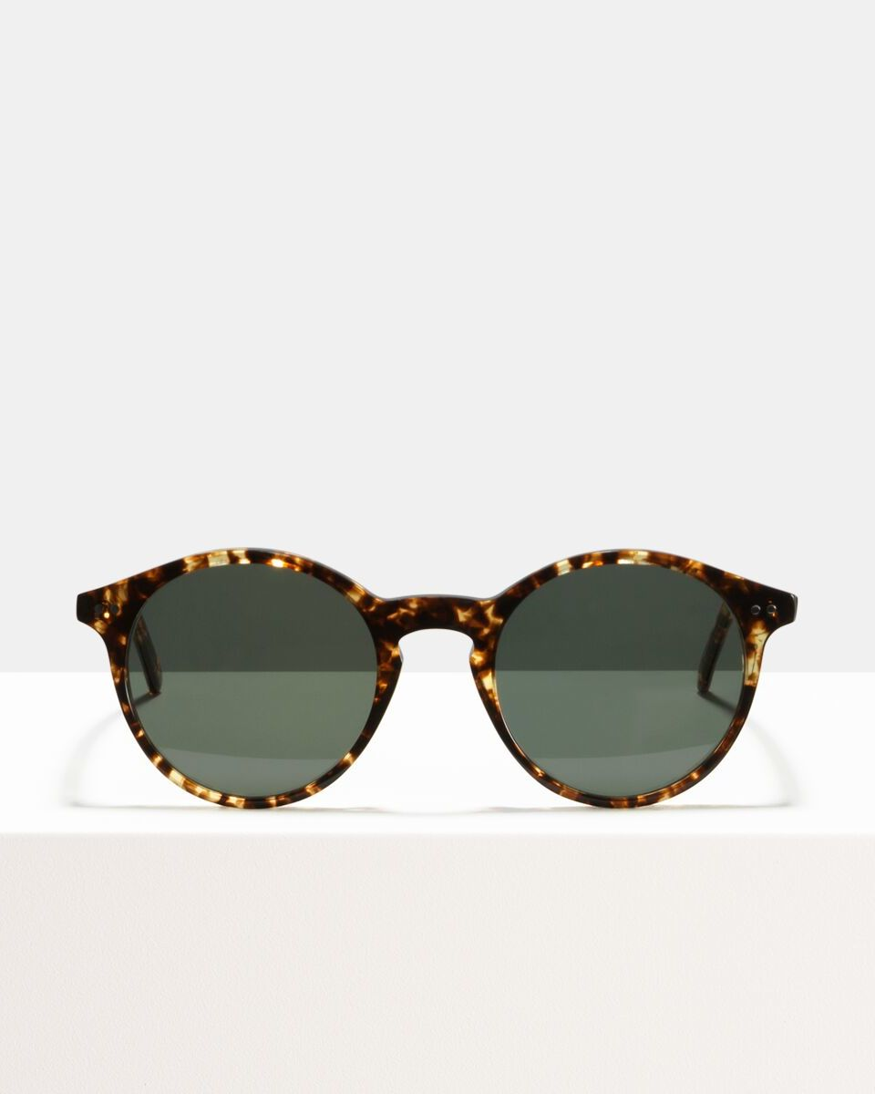 Monty acetate glasses in Chocolate Chip by Ace & Tate