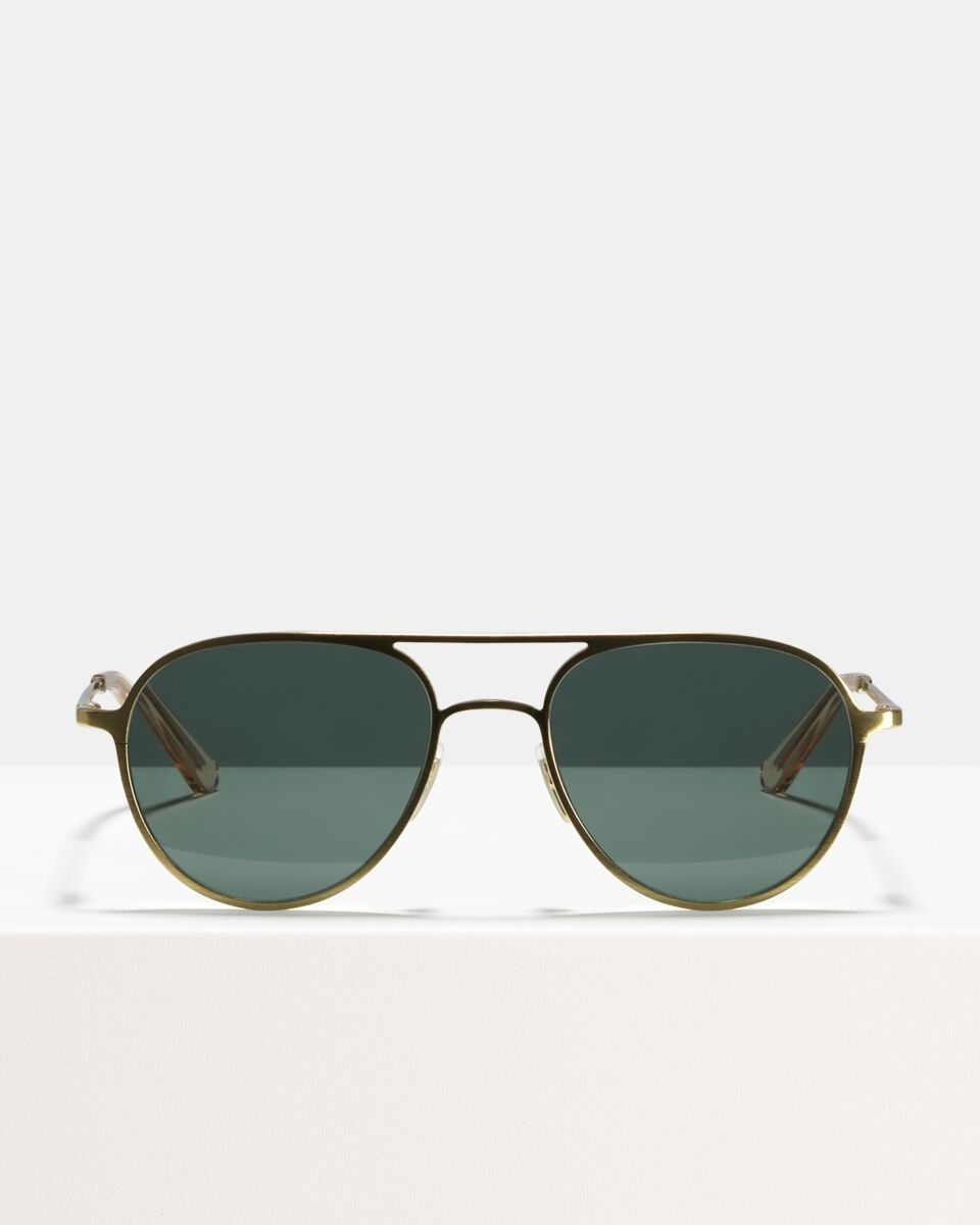 Igor metal glasses in Satin Gold by Ace & Tate
