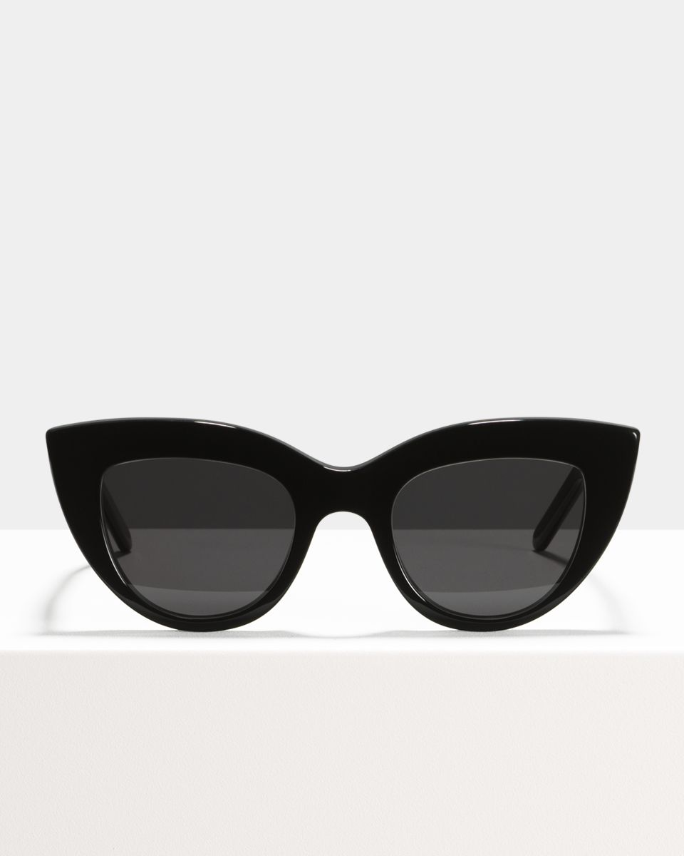 Capri Large acétate glasses in Black by Ace & Tate