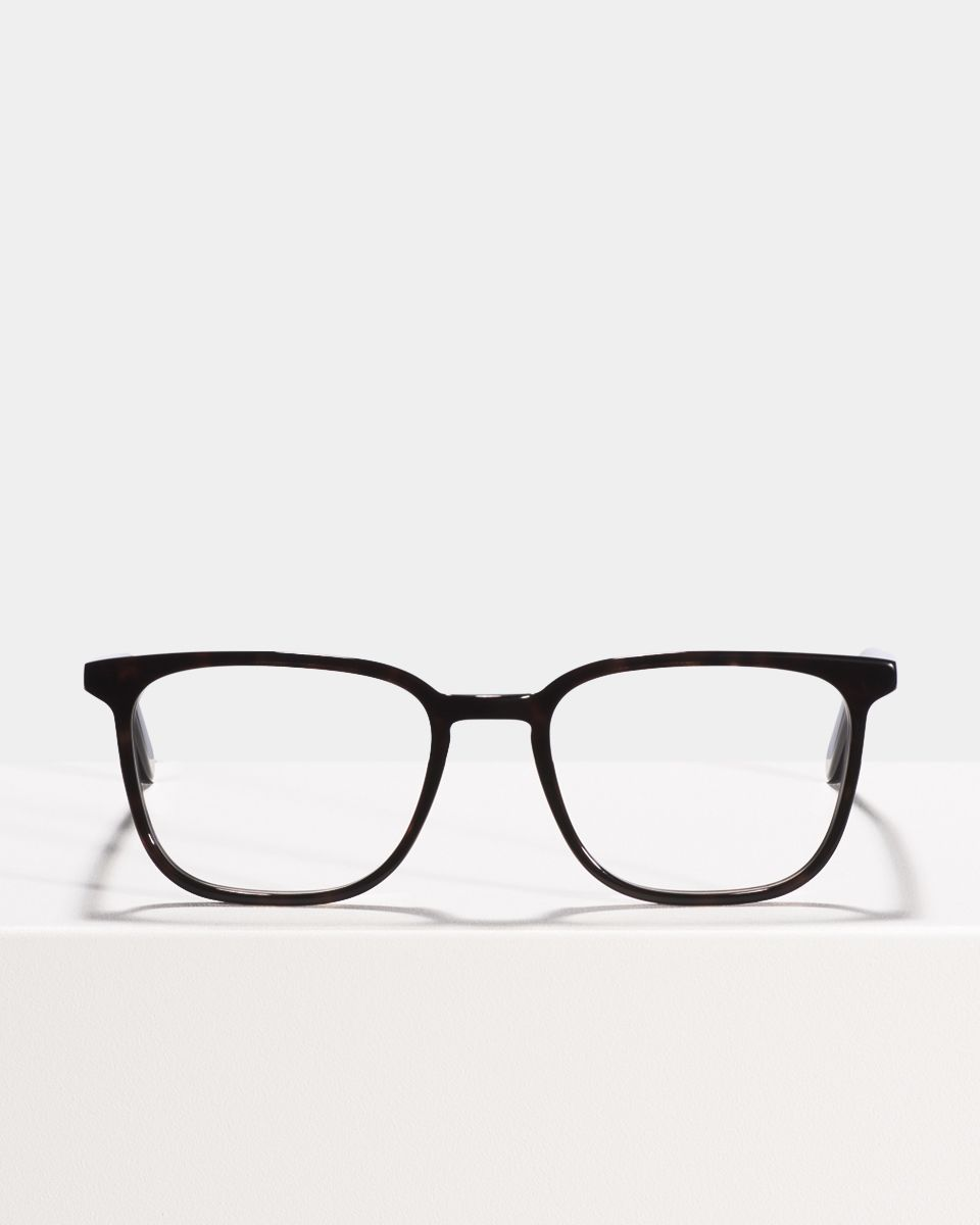 Nelson Small acetaat glasses in Black by Ace & Tate